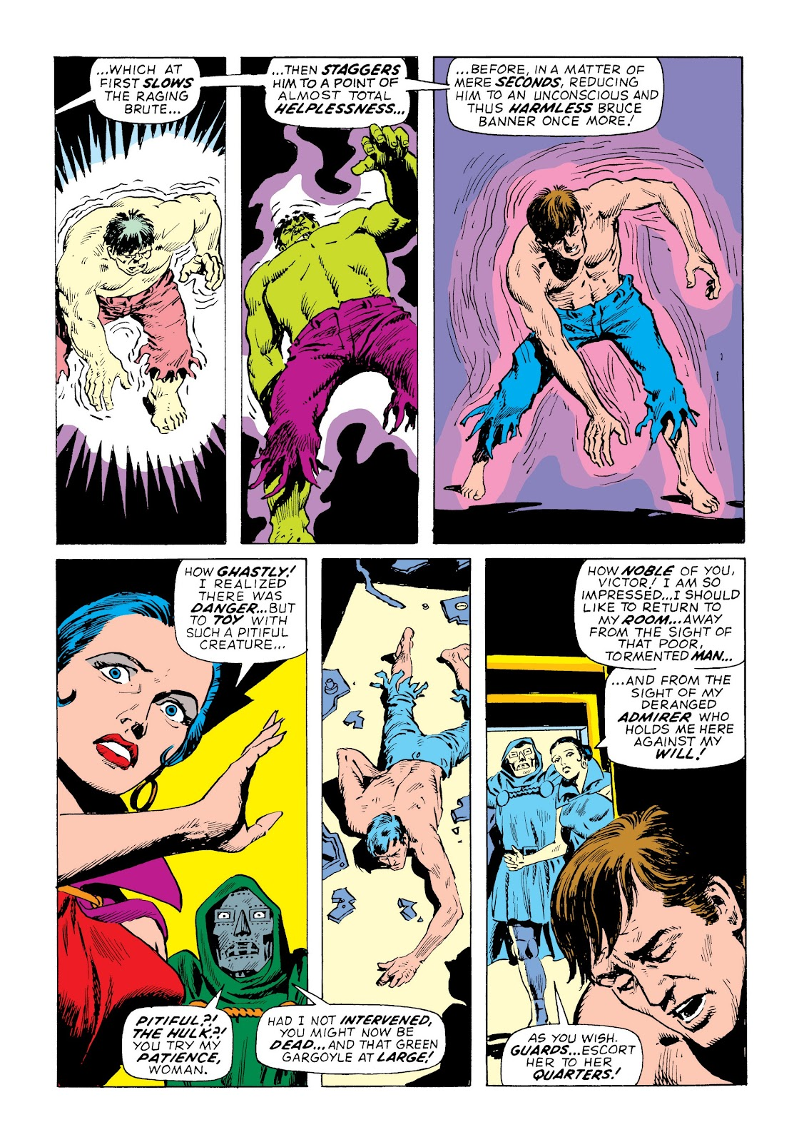 Read online Marvel Masterworks: The Incredible Hulk comic -  Issue # TPB 7 (Part 3) - 14