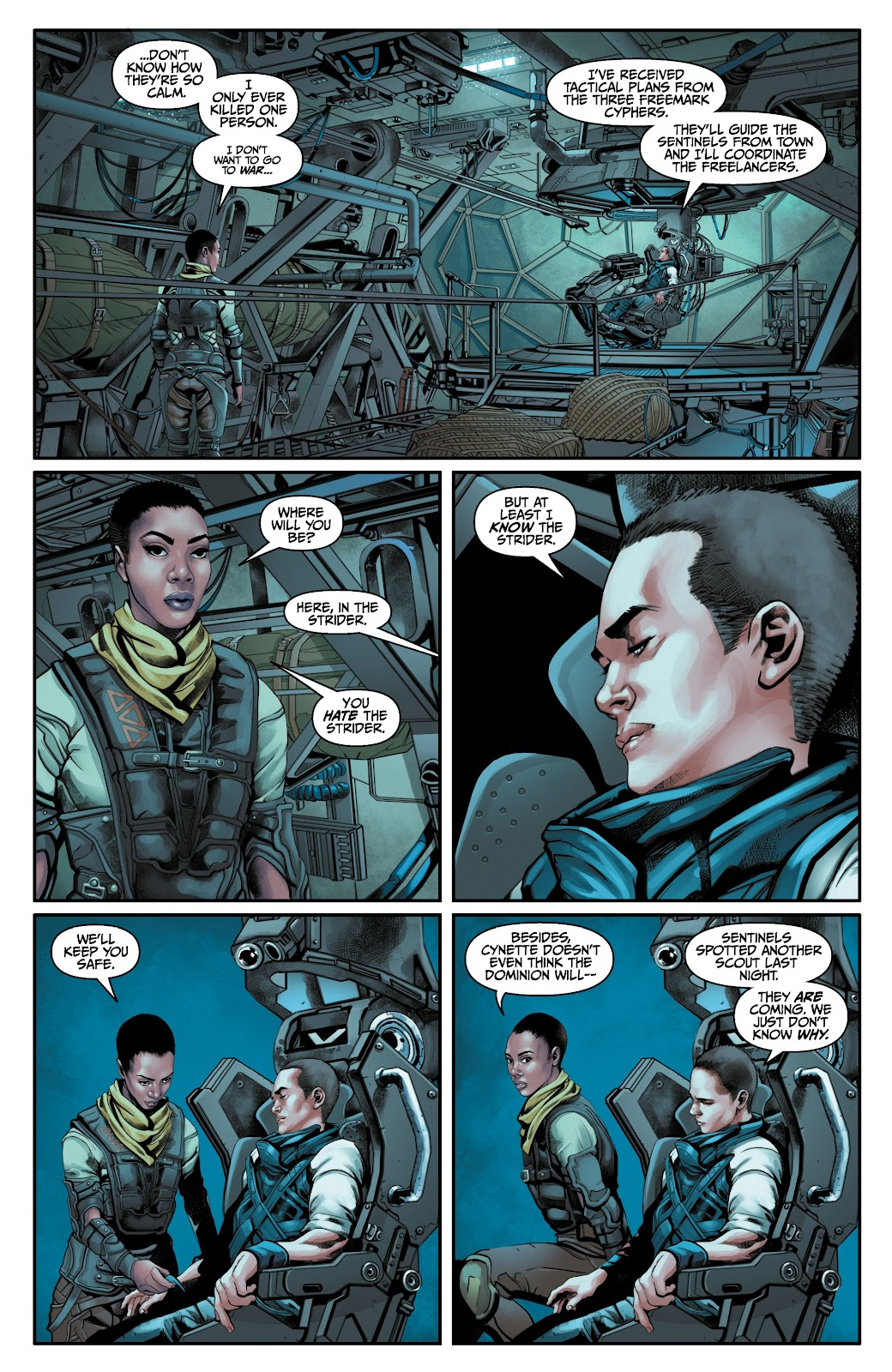 Read online Anthem comic -  Issue #3 - 4