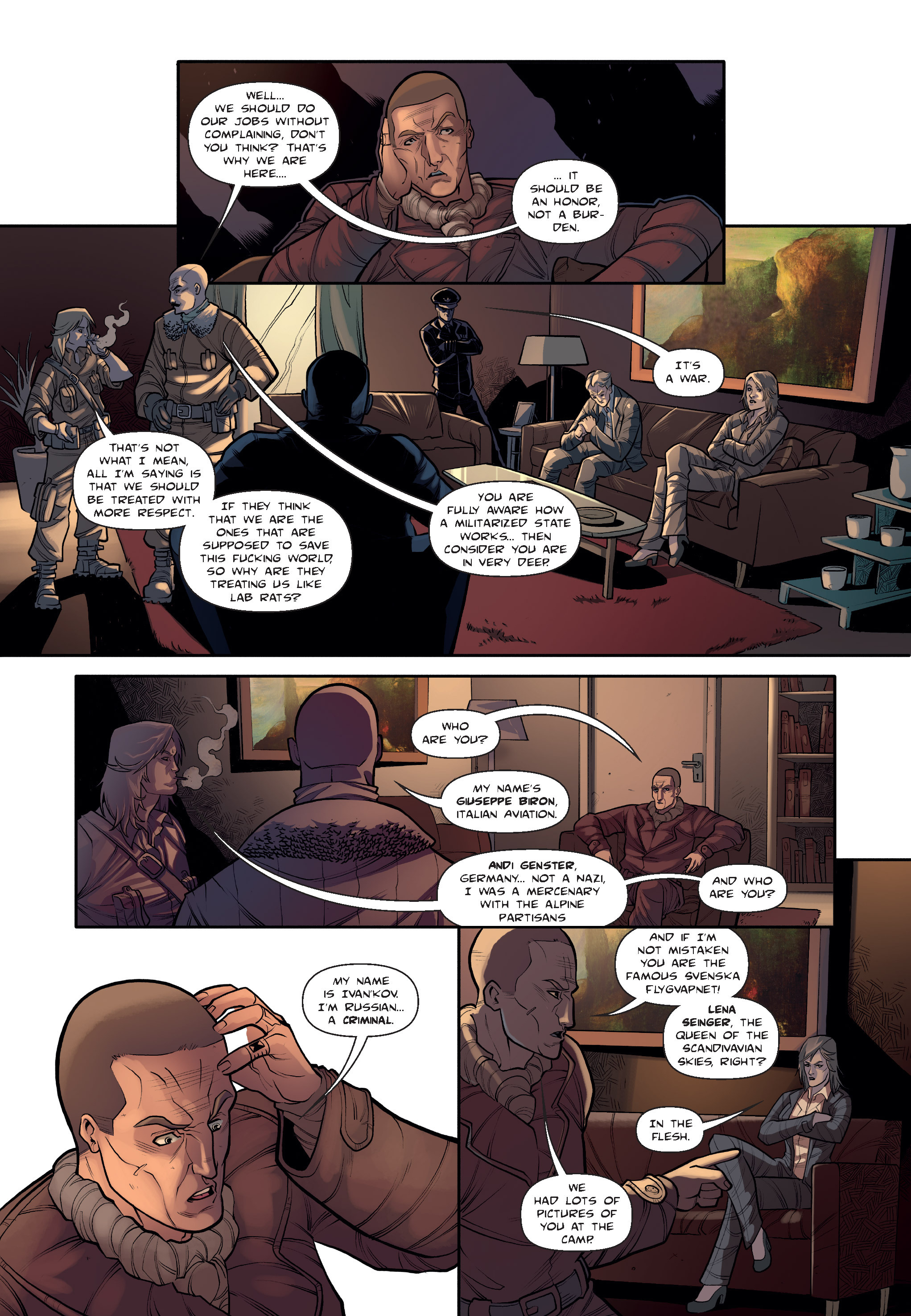 Read online The Shadow of a Terrible Thing comic -  Issue # TPB - 31