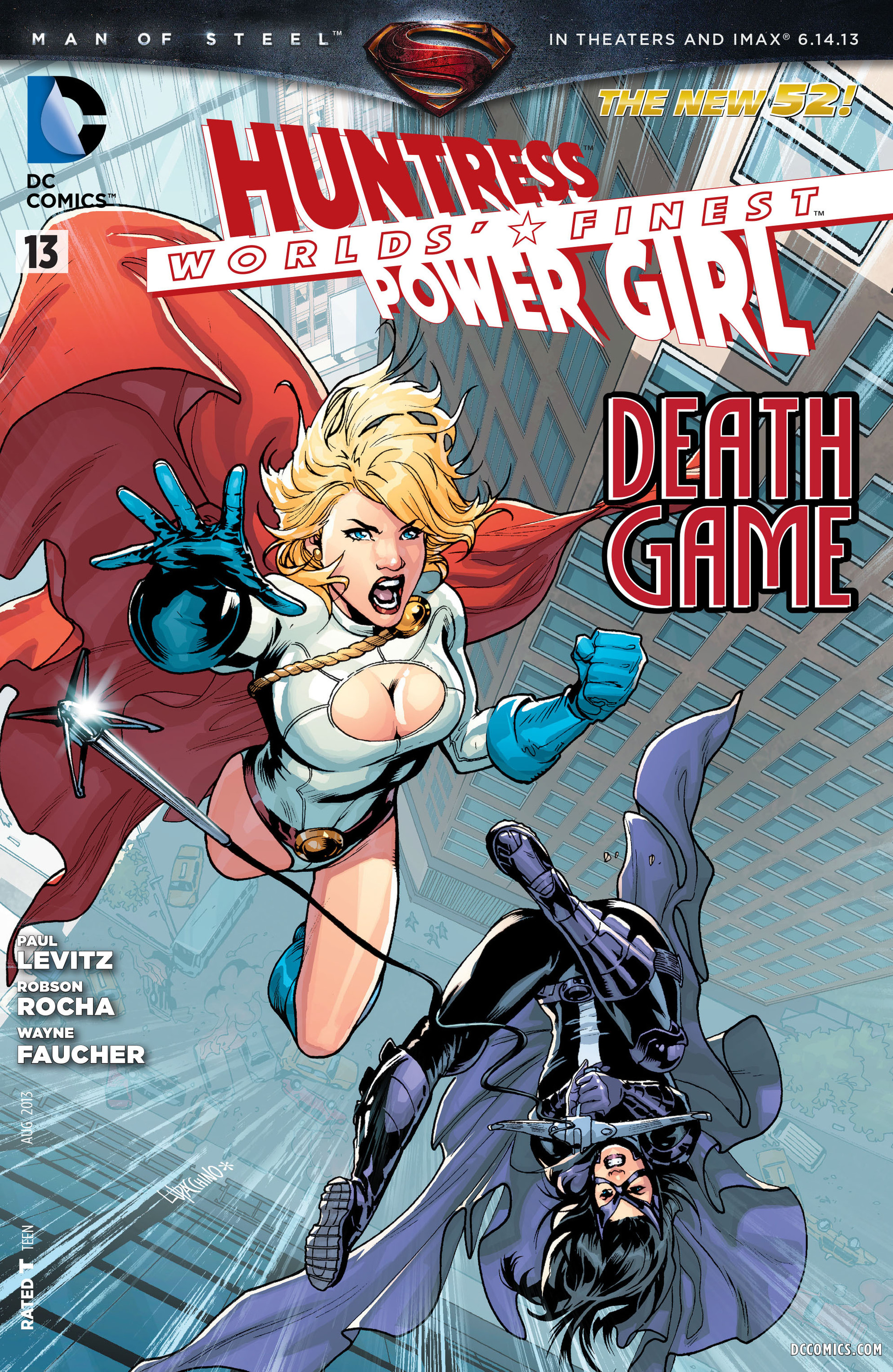 Read online Worlds' Finest comic -  Issue #13 - 1