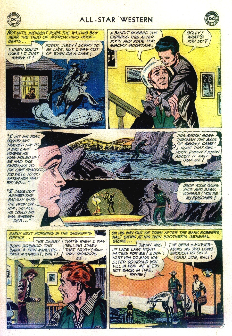 Read online All-Star Western (1951) comic -  Issue #111 - 29