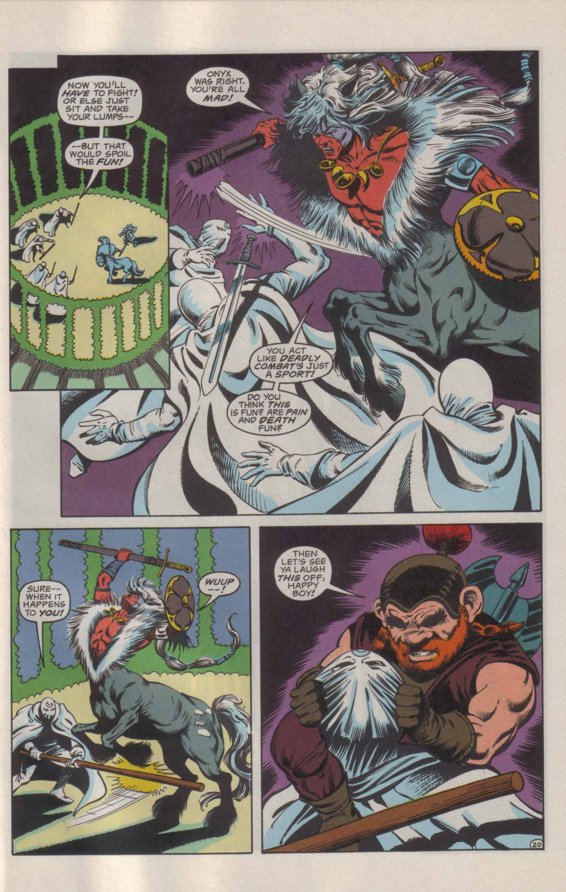 Read online Advanced Dungeons & Dragons comic -  Issue #21 - 21