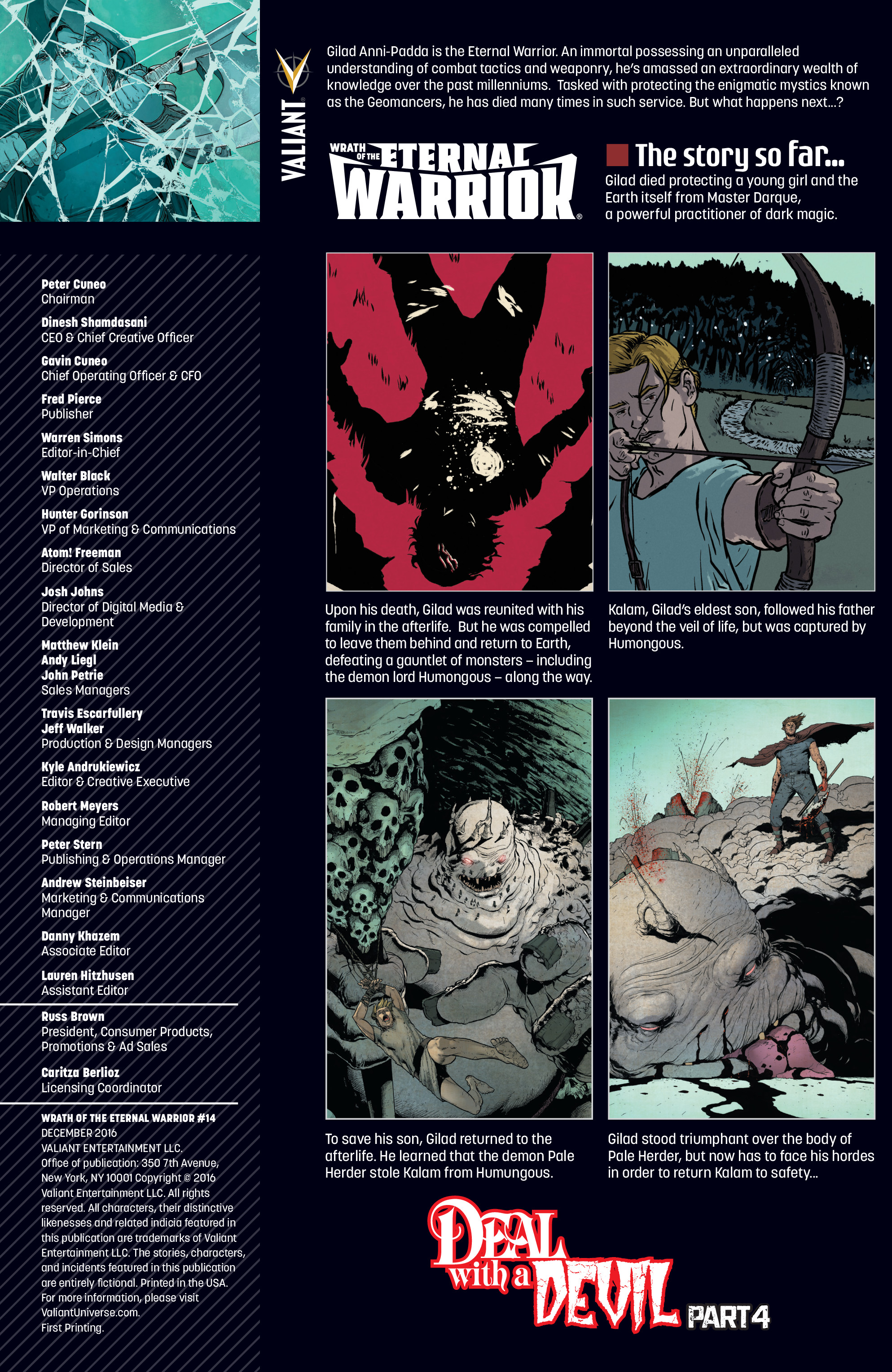 Read online Wrath of the Eternal Warrior comic -  Issue #14 - 2