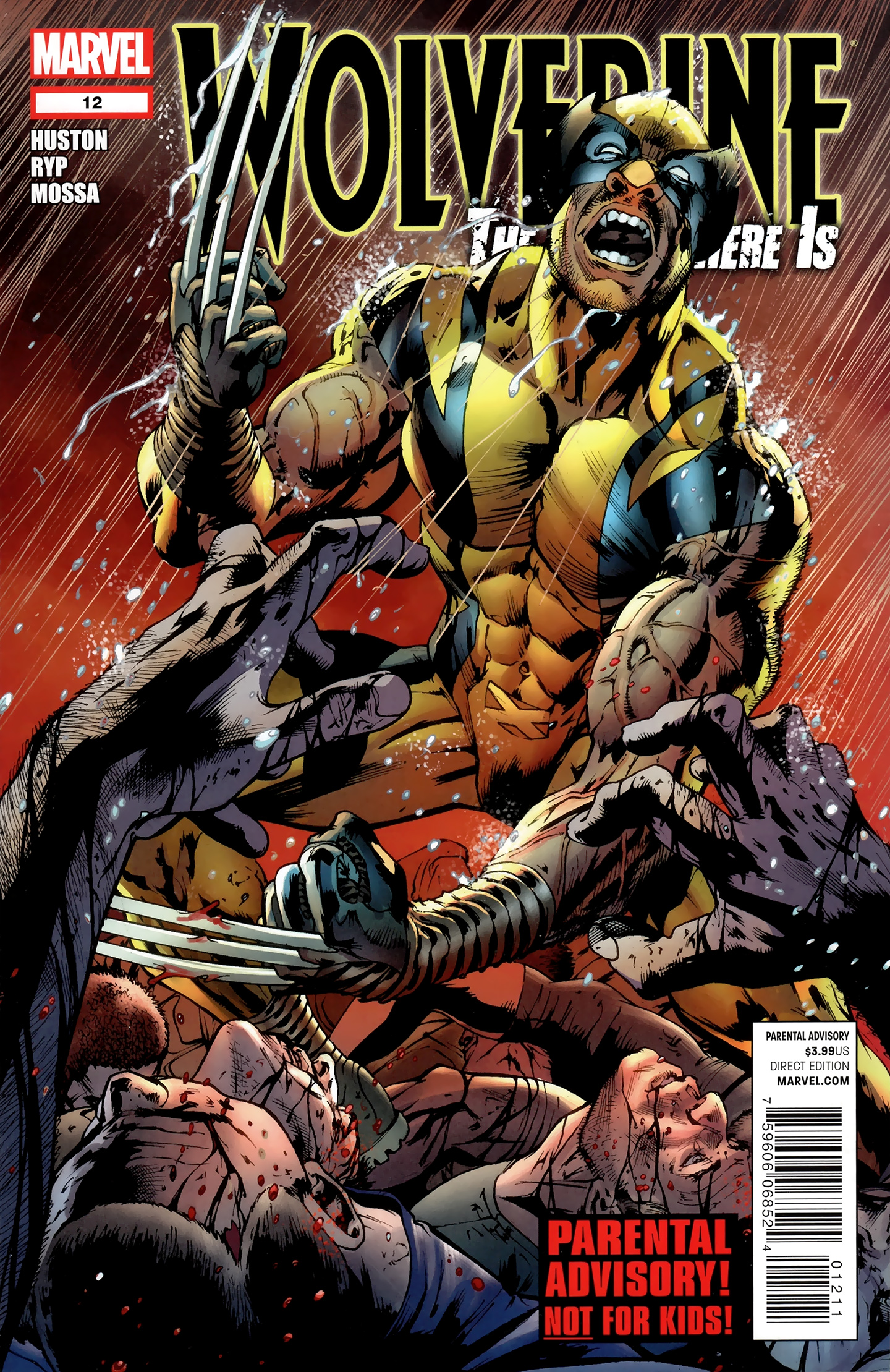 Read online Wolverine: The Best There Is comic -  Issue #12 - 1