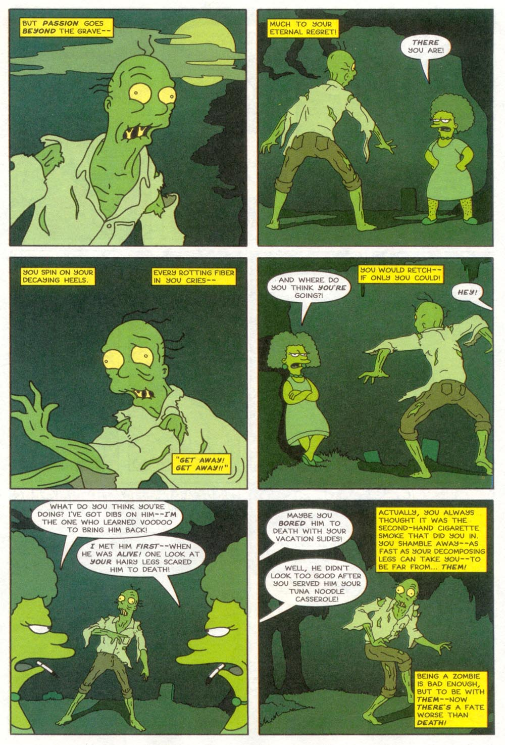 Read online Treehouse of Horror comic -  Issue #4 - 17