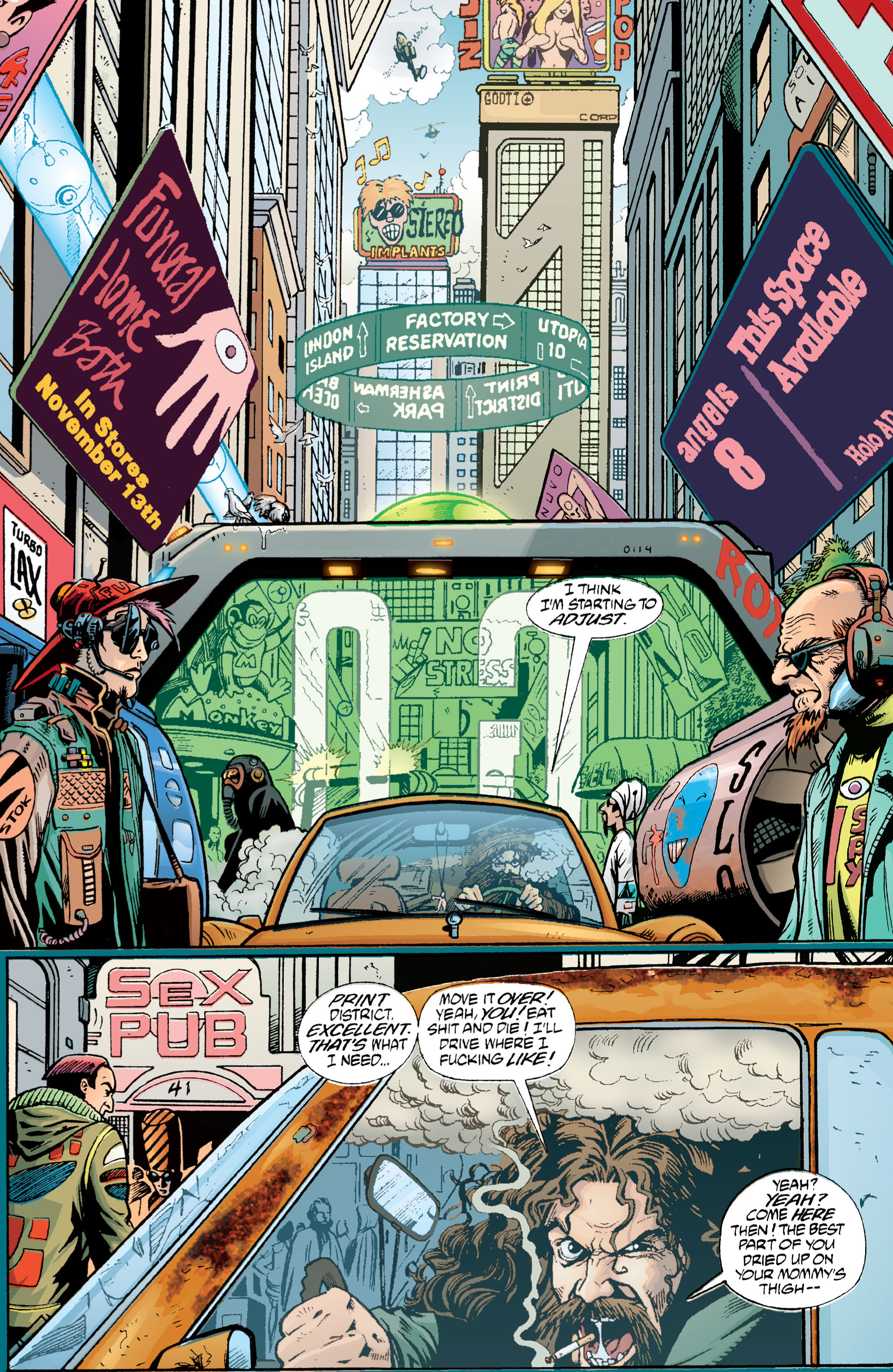 Read online Transmetropolitan comic -  Issue #1 - 12