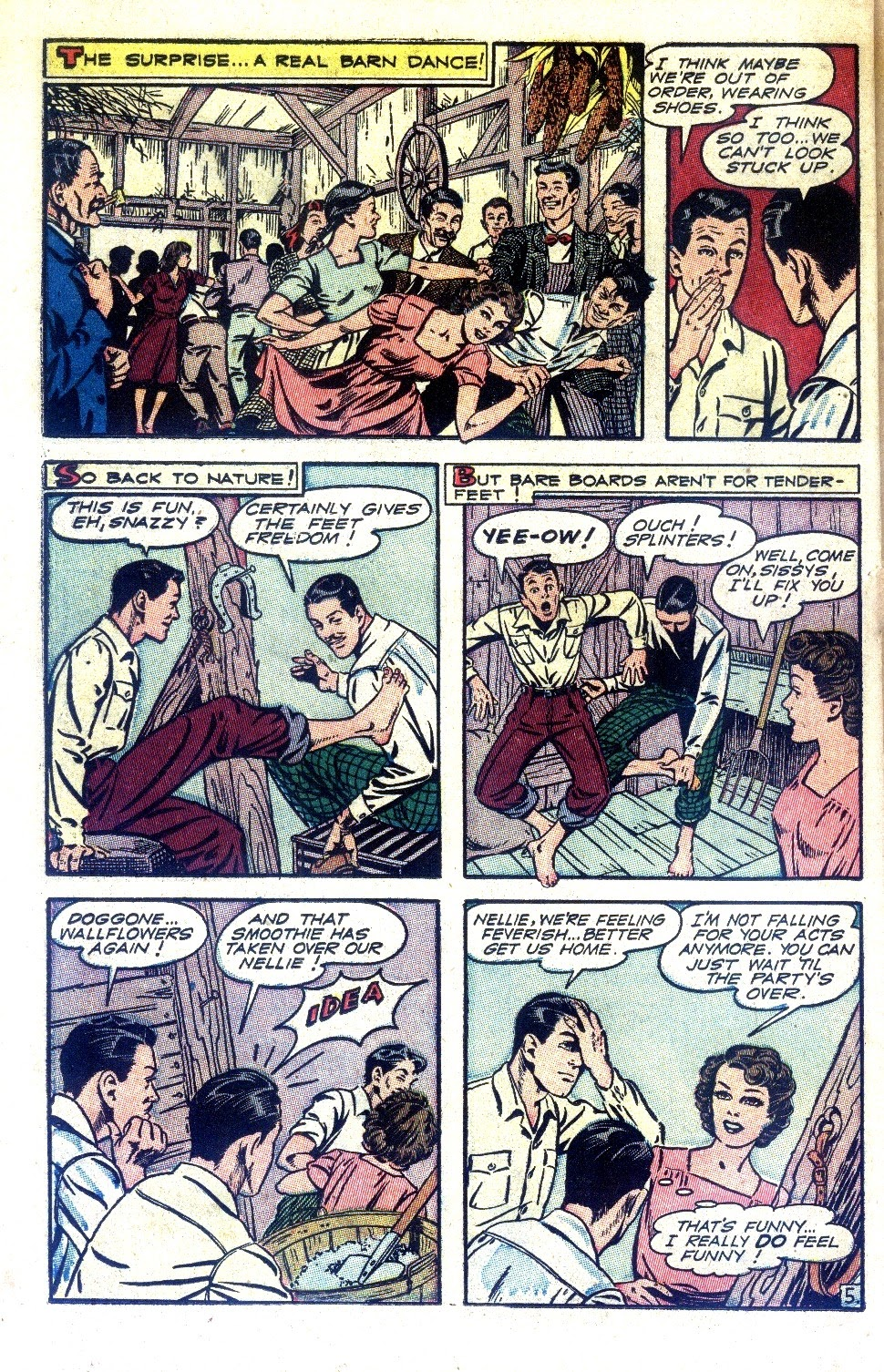 Read online Nellie The Nurse (1945) comic -  Issue #2 - 38