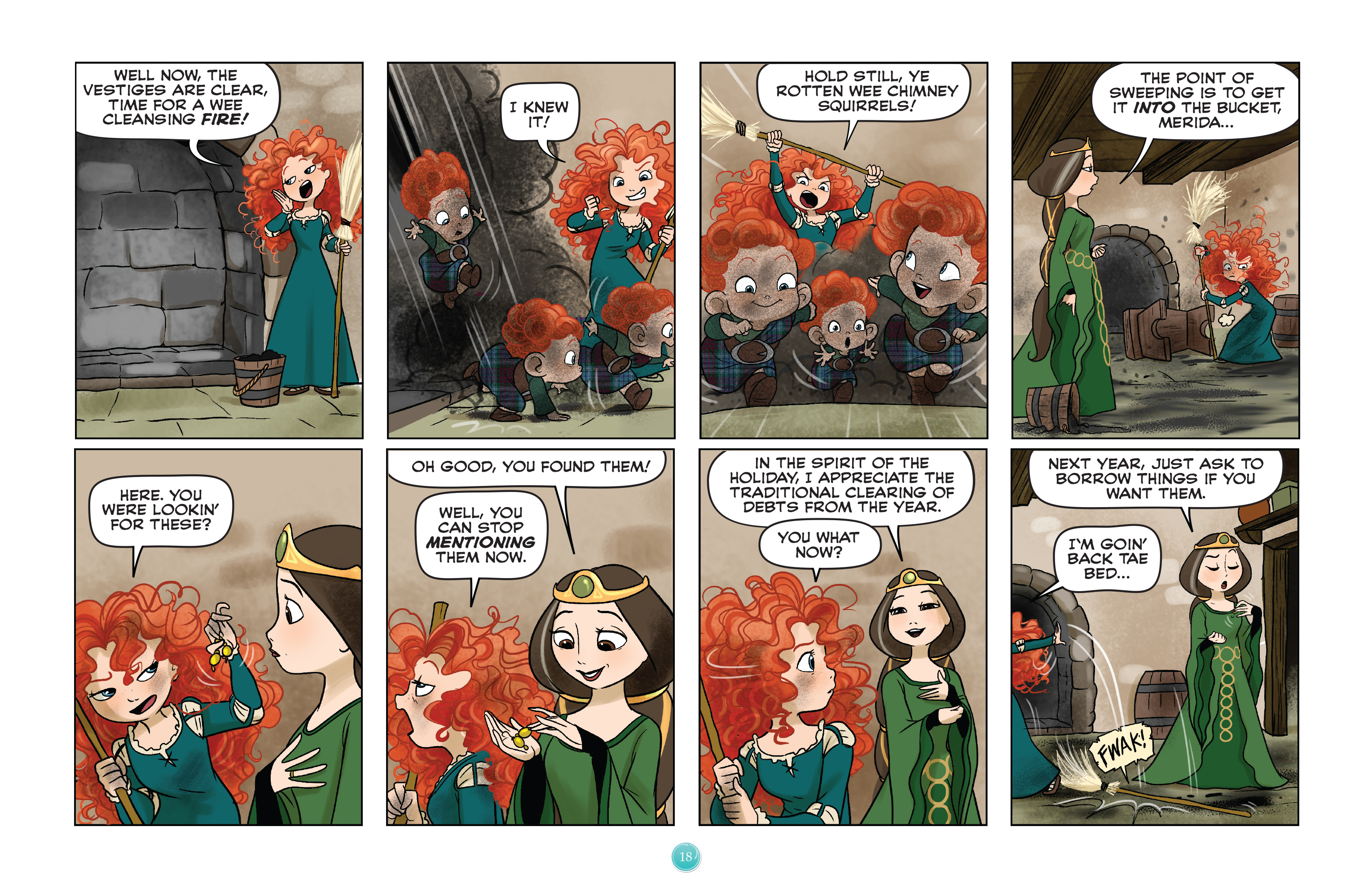 Read online Disney Princess comic -  Issue #8 - 18