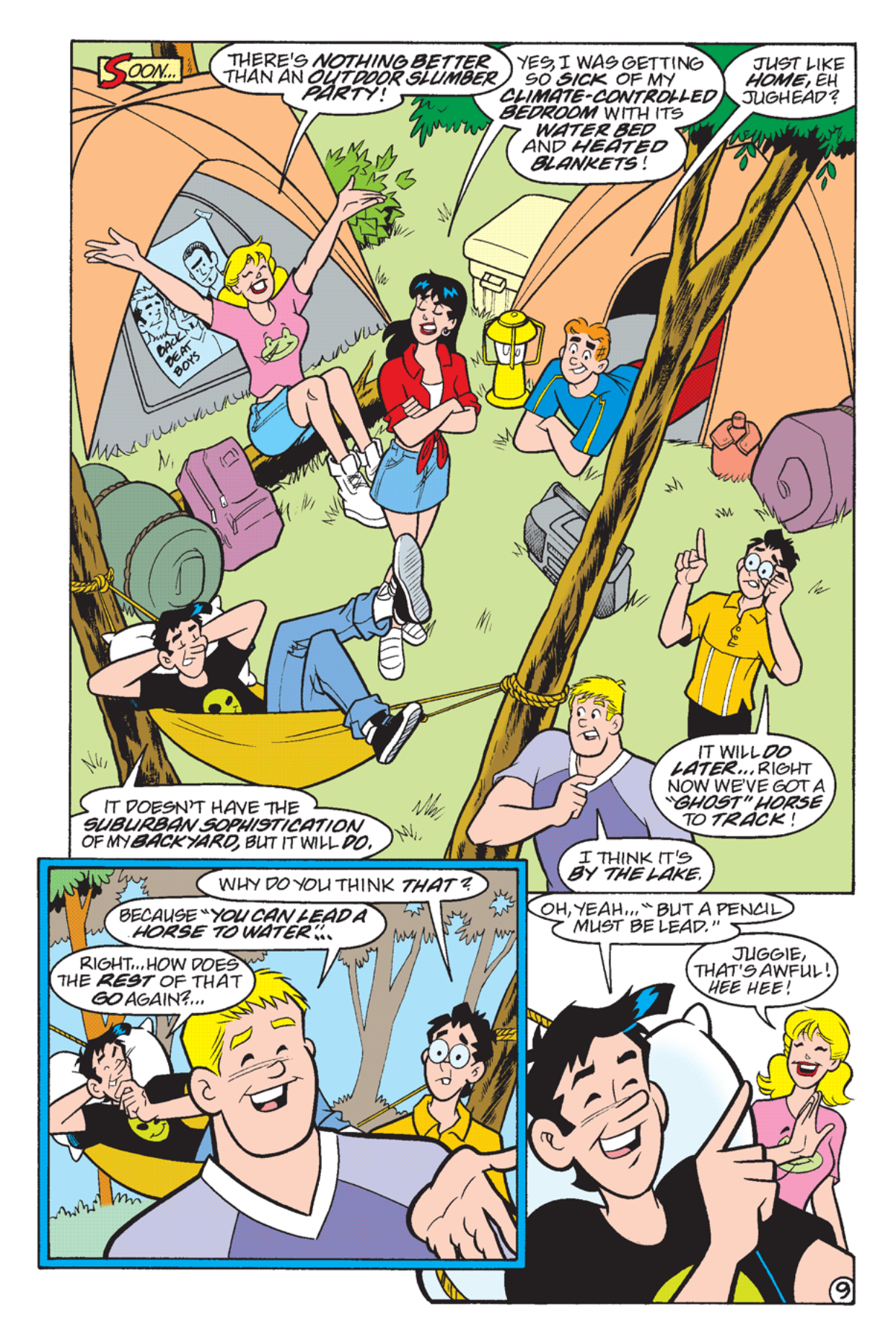 Read online Archie's Weird Mysteries comic -  Issue #23 - 11