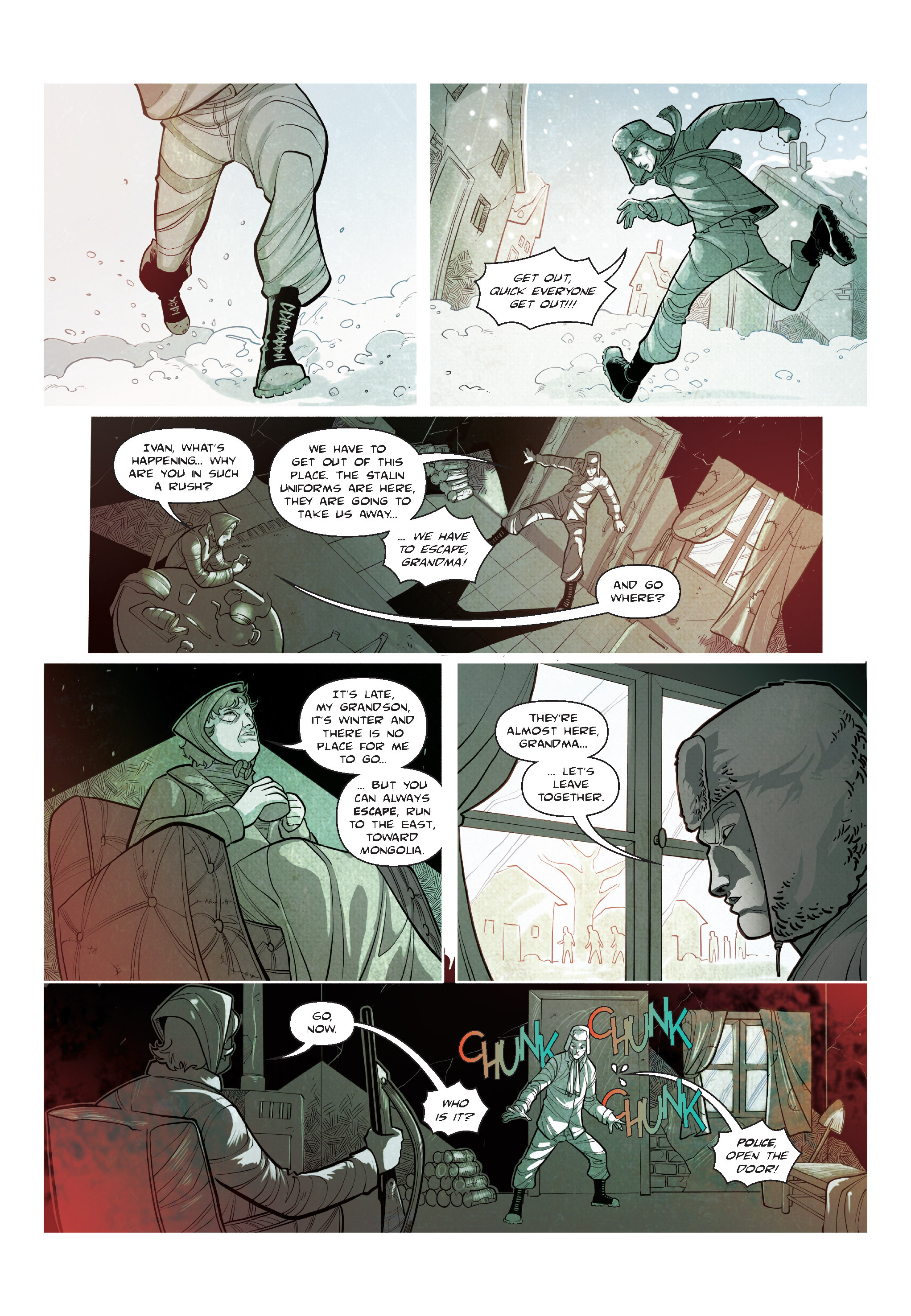 Read online The Shadow of a Terrible Thing comic -  Issue # TPB - 56