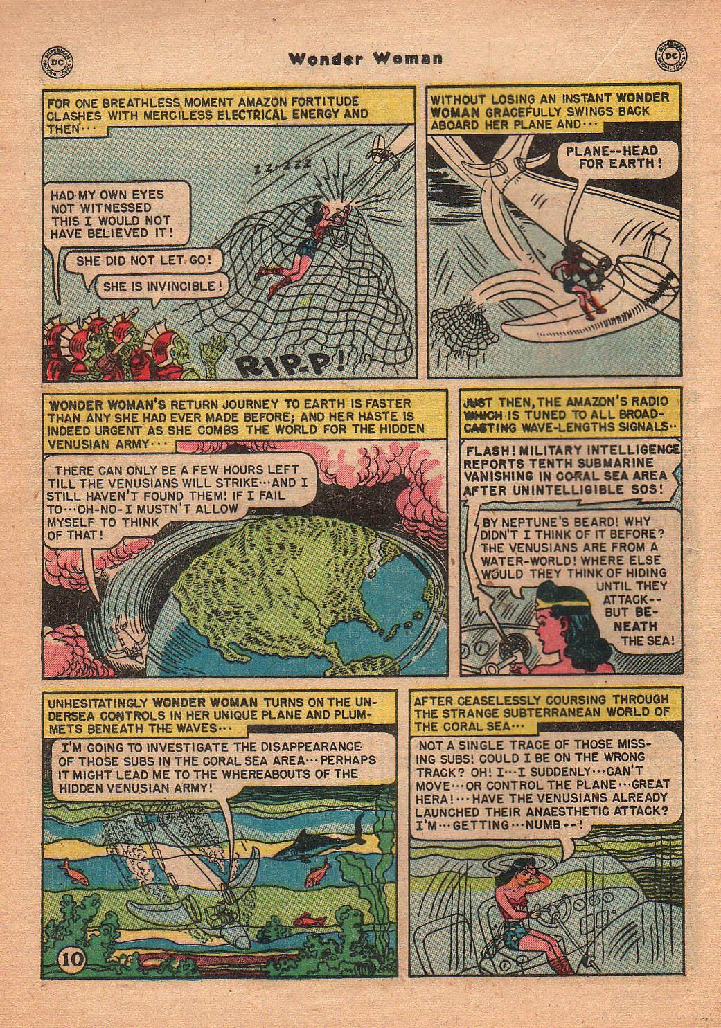 Read online Wonder Woman (1942) comic -  Issue #42 - 29