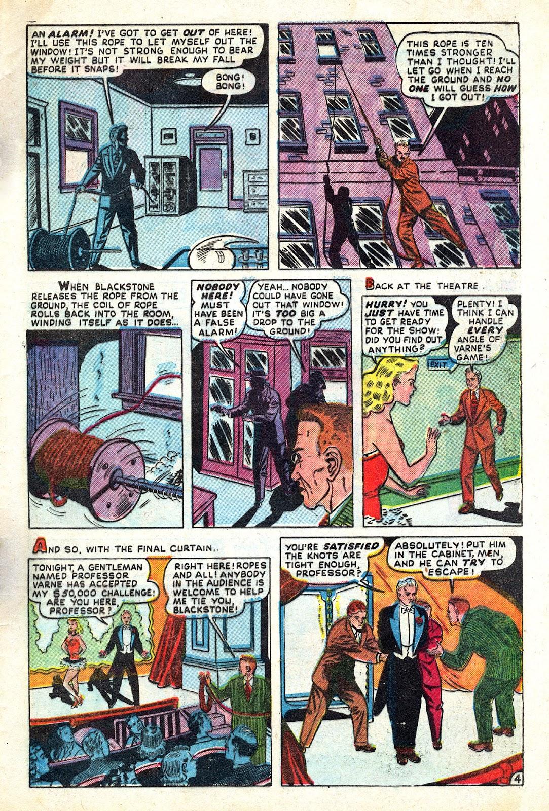 Read online Blackstone the Magician comic -  Issue #4 - 29