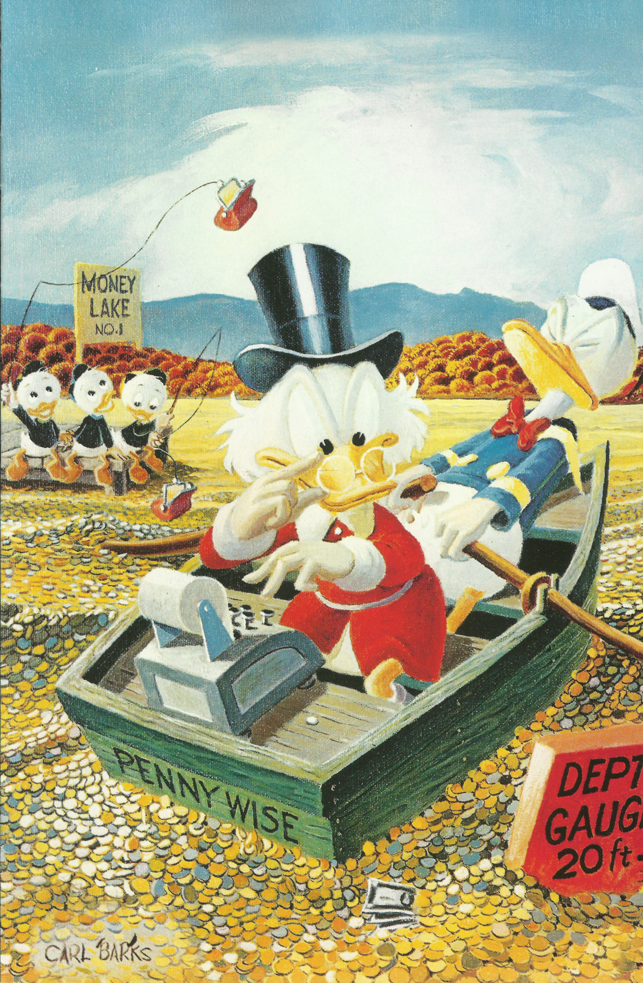 Read online Uncle Scrooge (1953) comic -  Issue #400 - 1