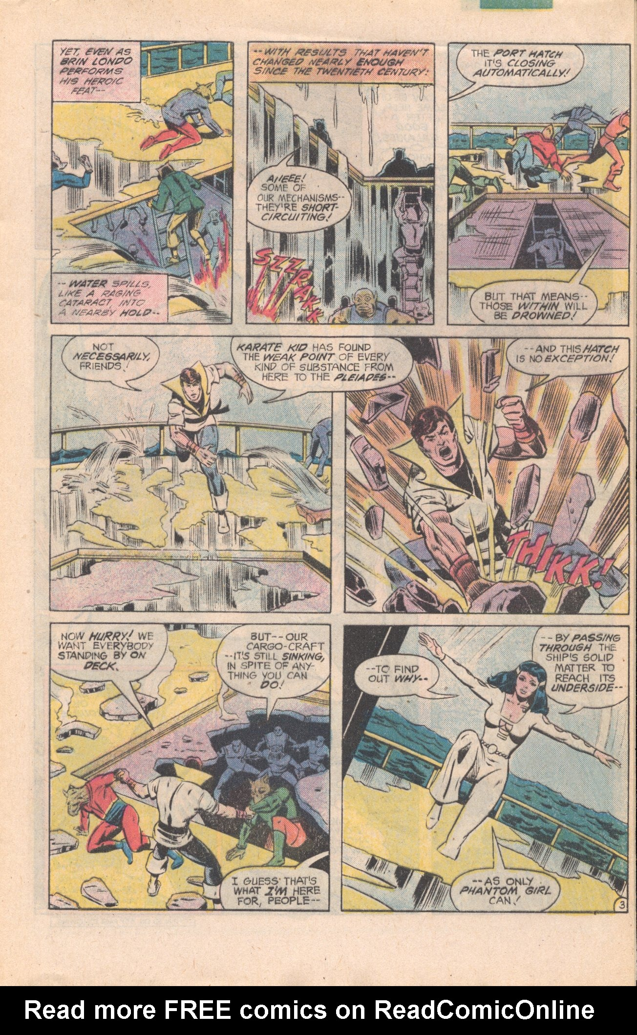 Legion of Super-Heroes (1980) 277 Page 3