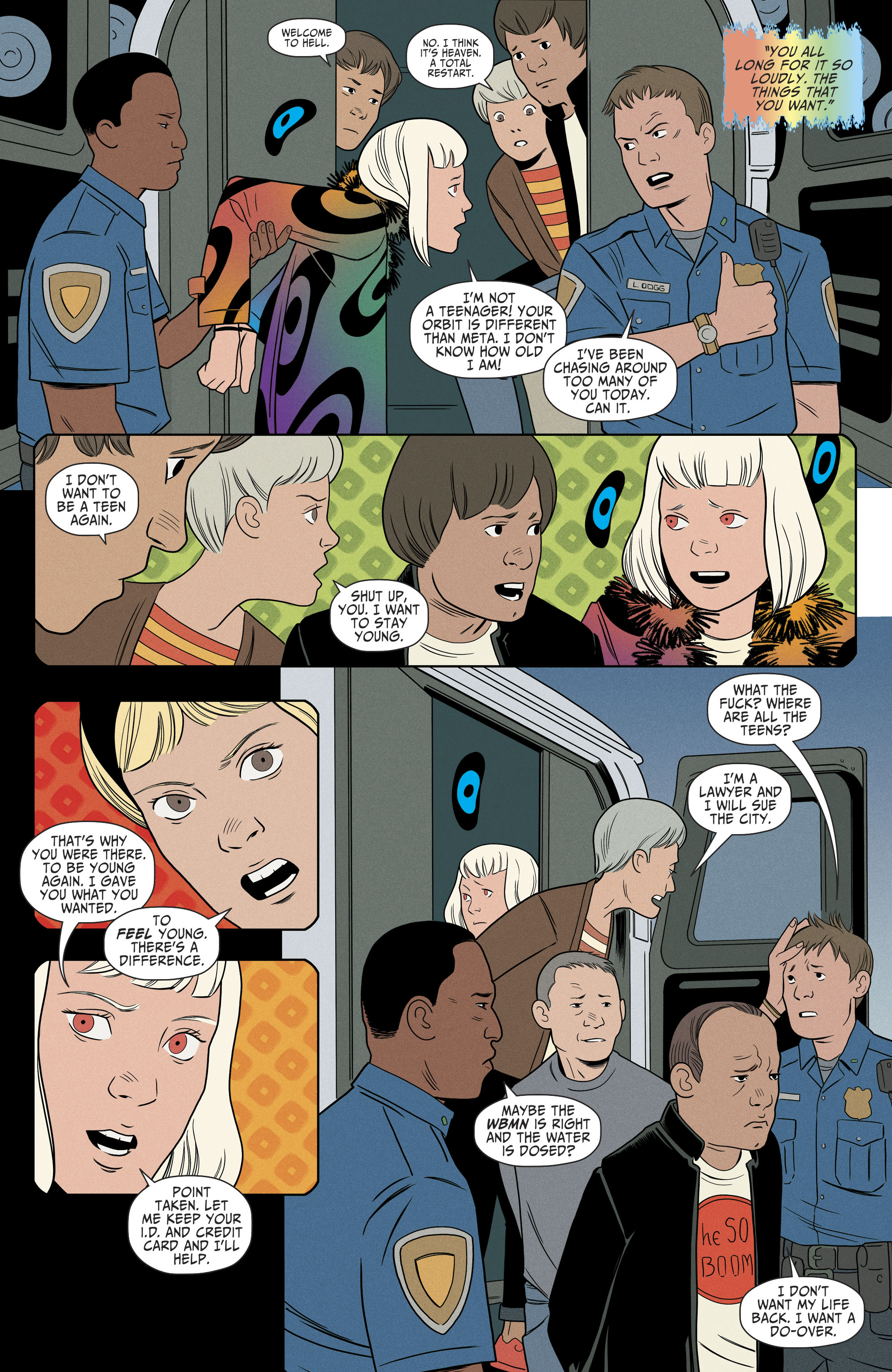 Read online Shade, the Changing Girl comic -  Issue #9 - 21