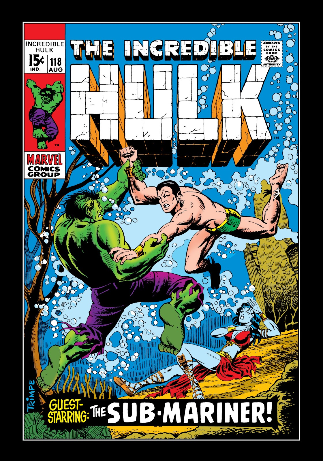 Read online Marvel Masterworks: The Incredible Hulk comic -  Issue # TPB 5 (Part 2) - 53