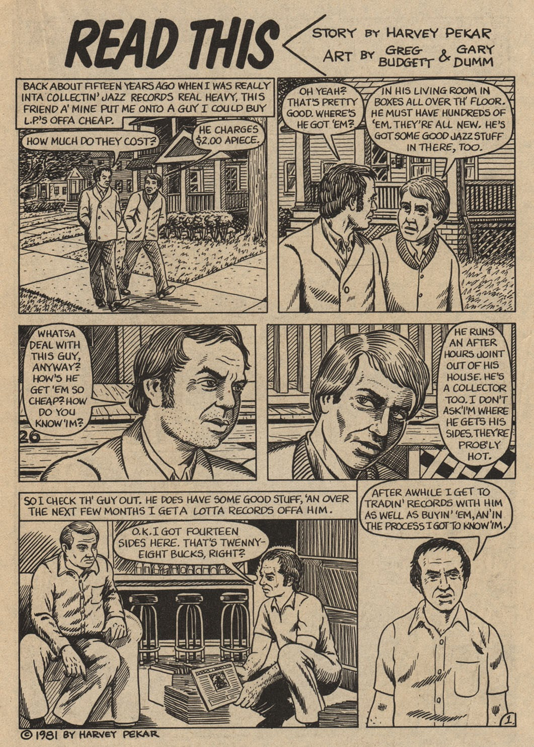 American Splendor (1976) issue 6 - Page 30