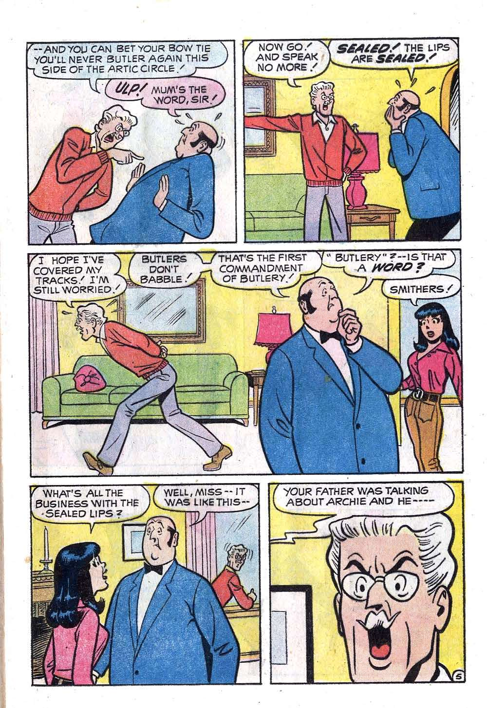 Read online Archie (1960) comic -  Issue #219 - 17