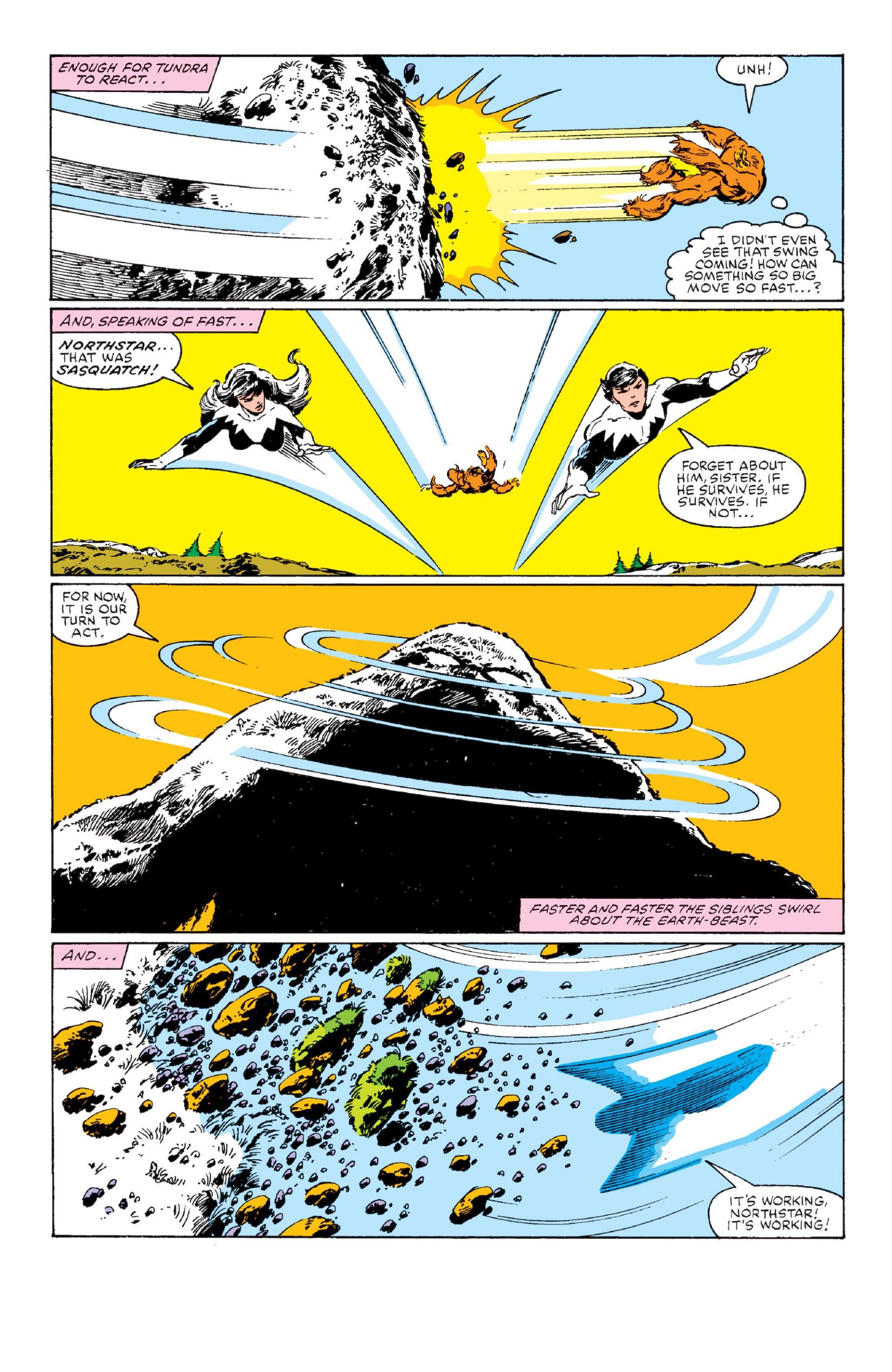 Read online Alpha Flight (1983) comic -  Issue #1 - 33