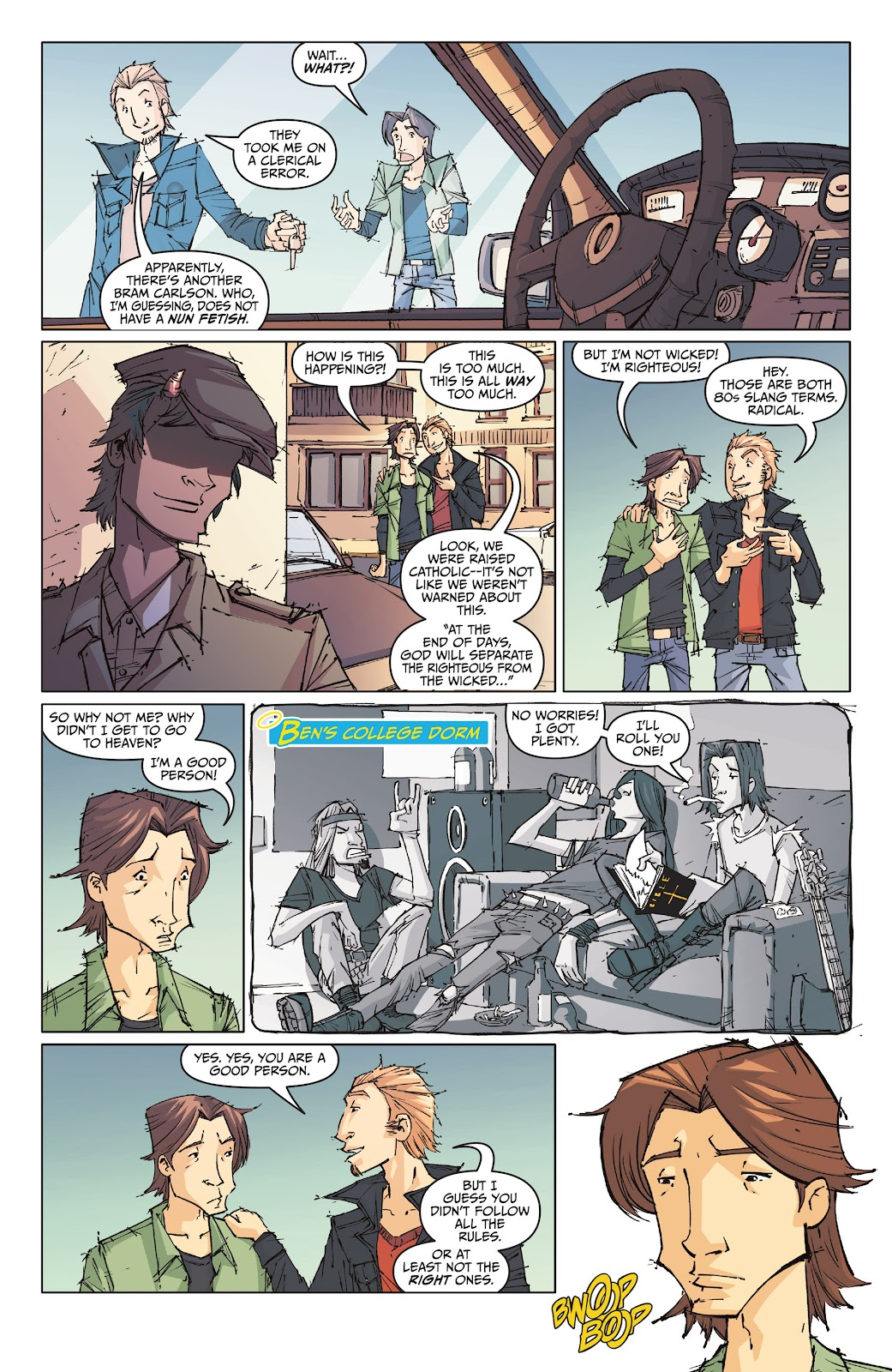 Read online The End Times of Bram and Ben comic -  Issue #1 - 11