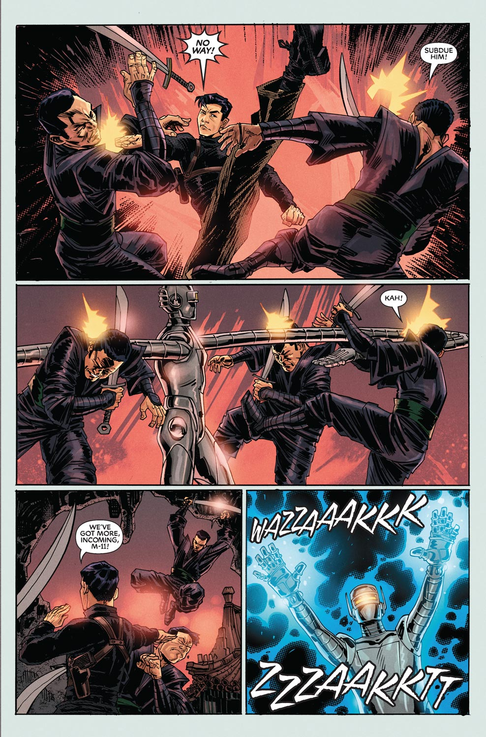 Read online Agents Of Atlas (2009) comic -  Issue #9 - 10