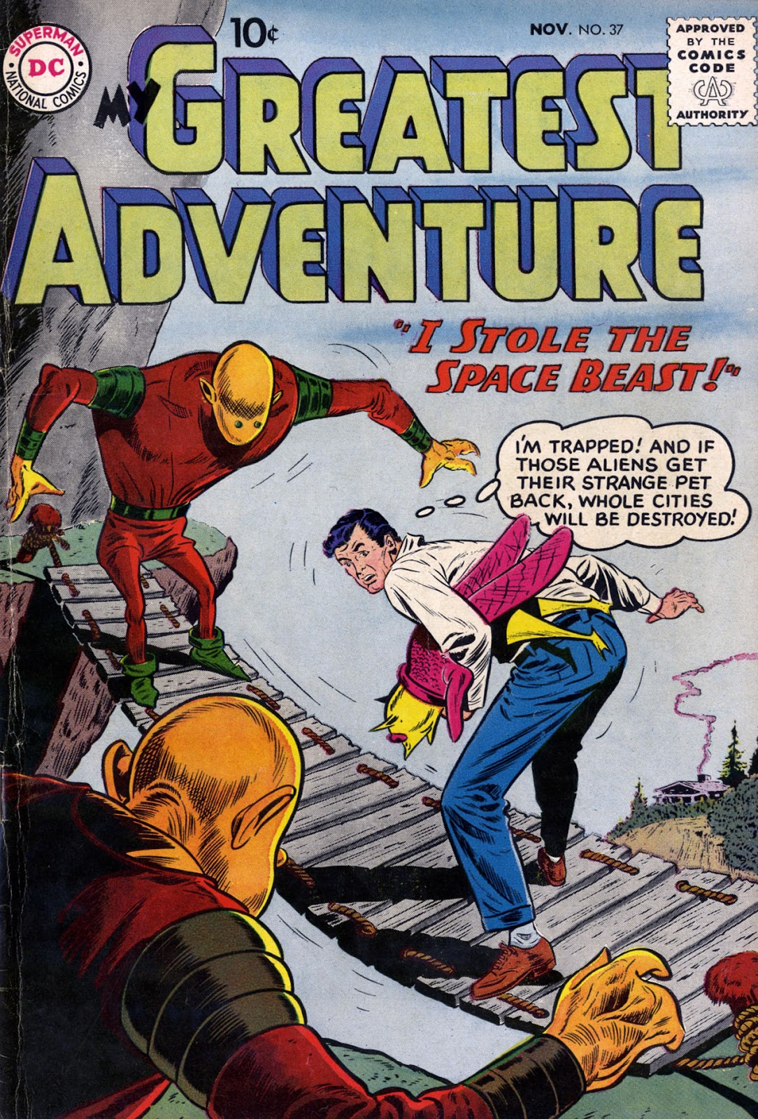 My Greatest Adventure (1955) issue 37 - Page 1