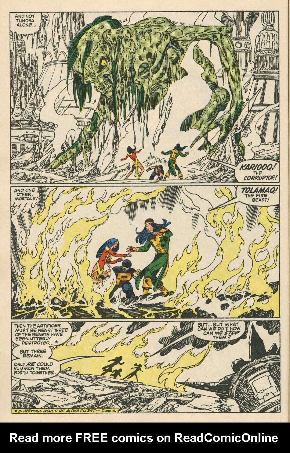 Read online Alpha Flight (1983) comic -  Issue #24 - 16