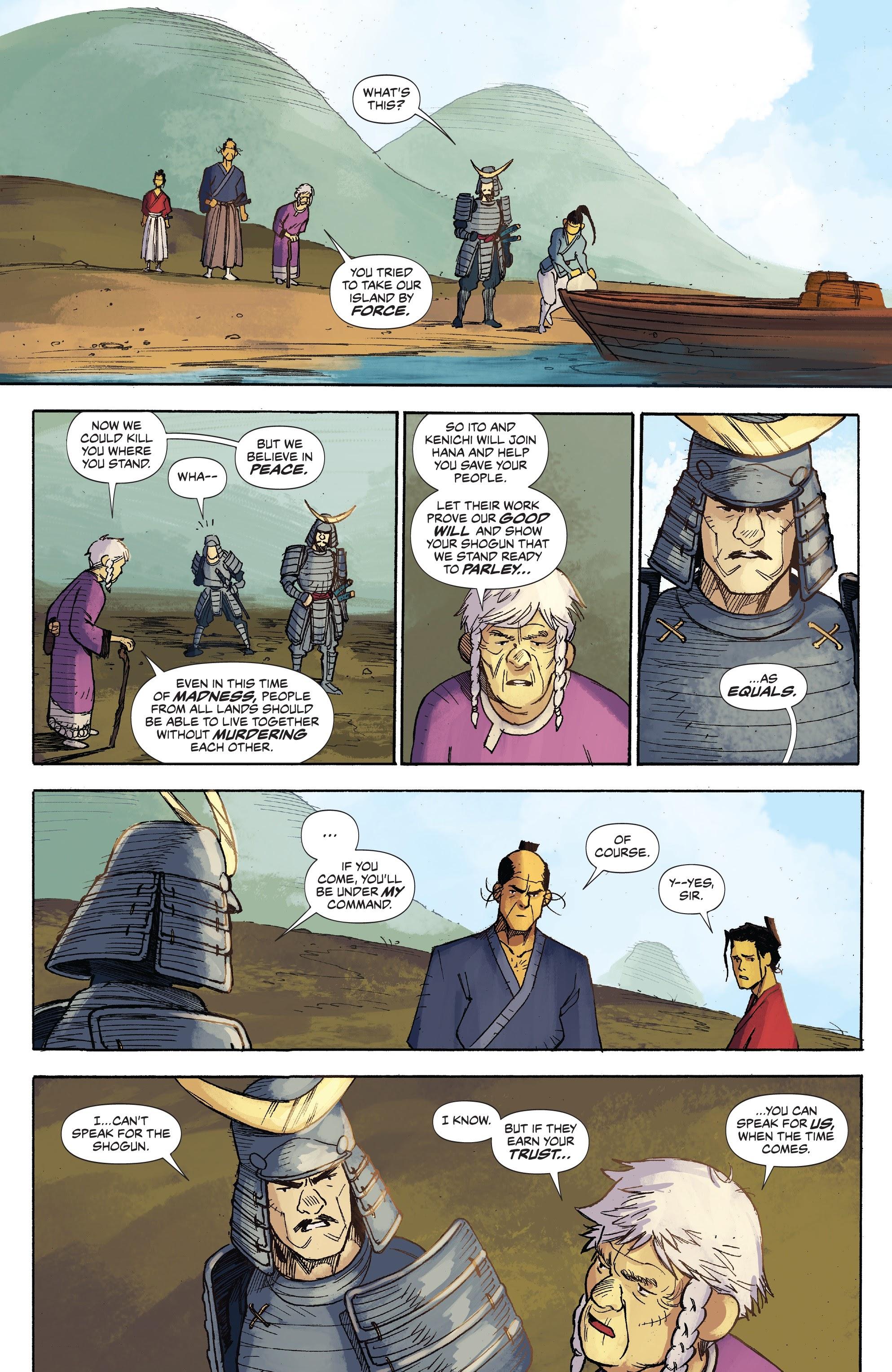Read online Ronin Island comic -  Issue #3 - 8