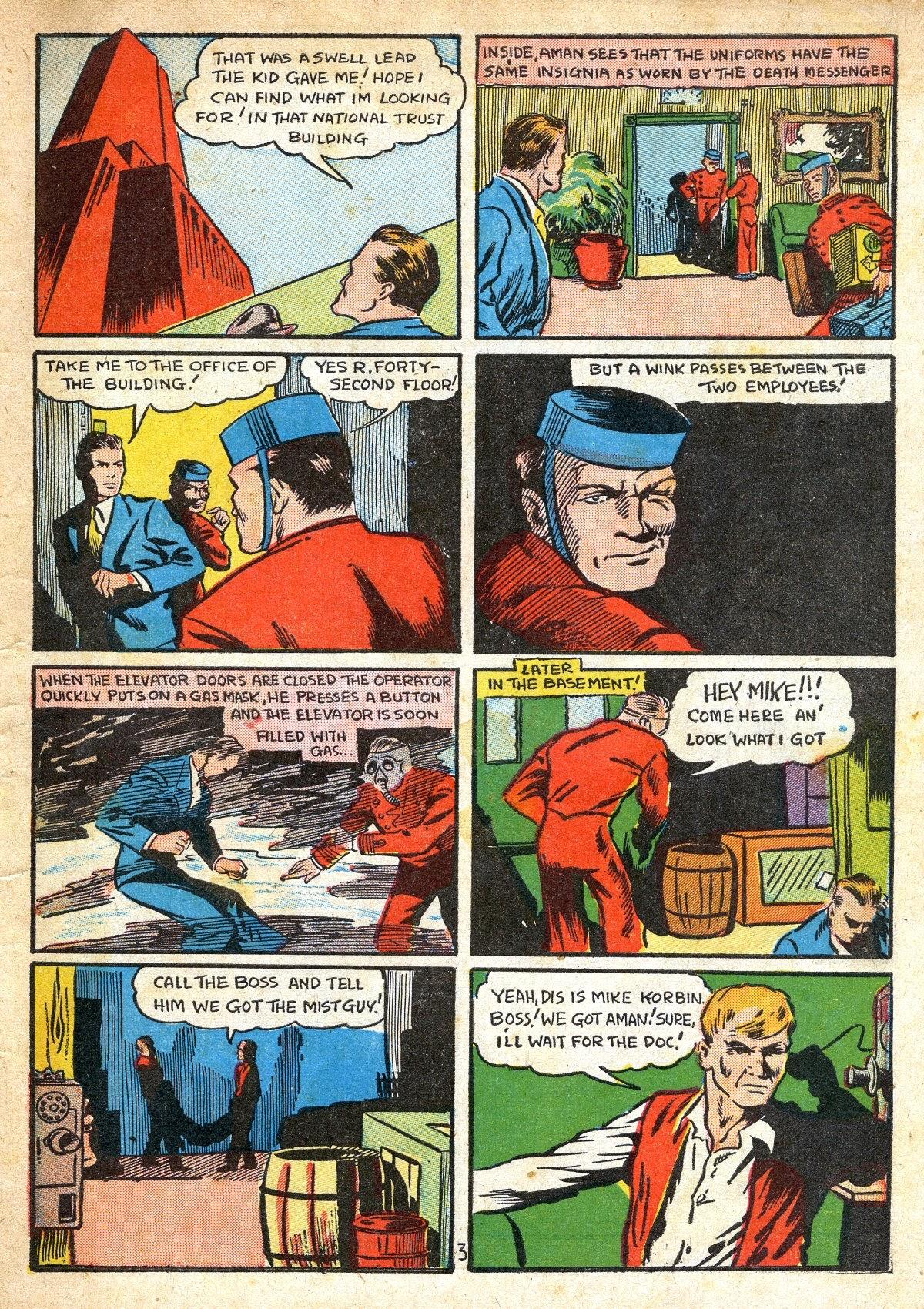 Read online Amazing Man Comics comic -  Issue #16 - 5