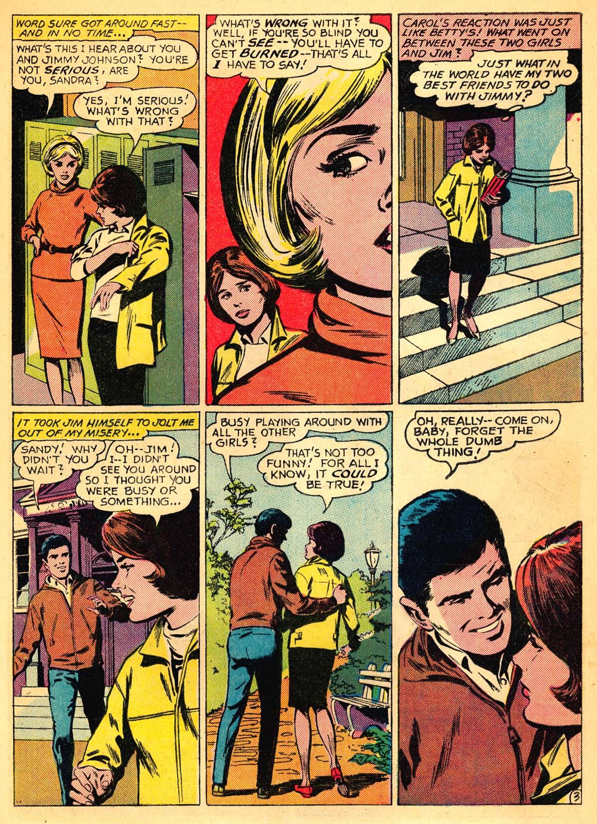 Read online Secret Hearts comic -  Issue #111 - 5