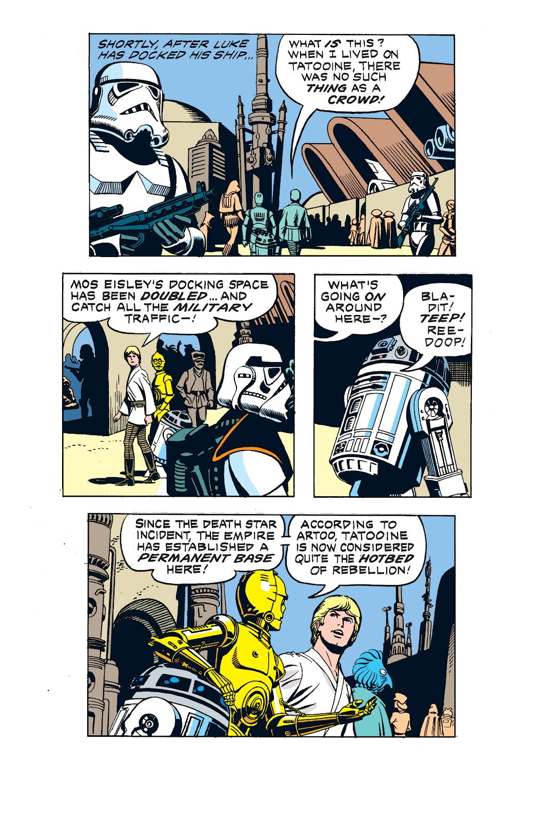 Read online Star Wars Legends: The Newspaper Strips - Epic Collection comic -  Issue # TPB (Part 2) - 26