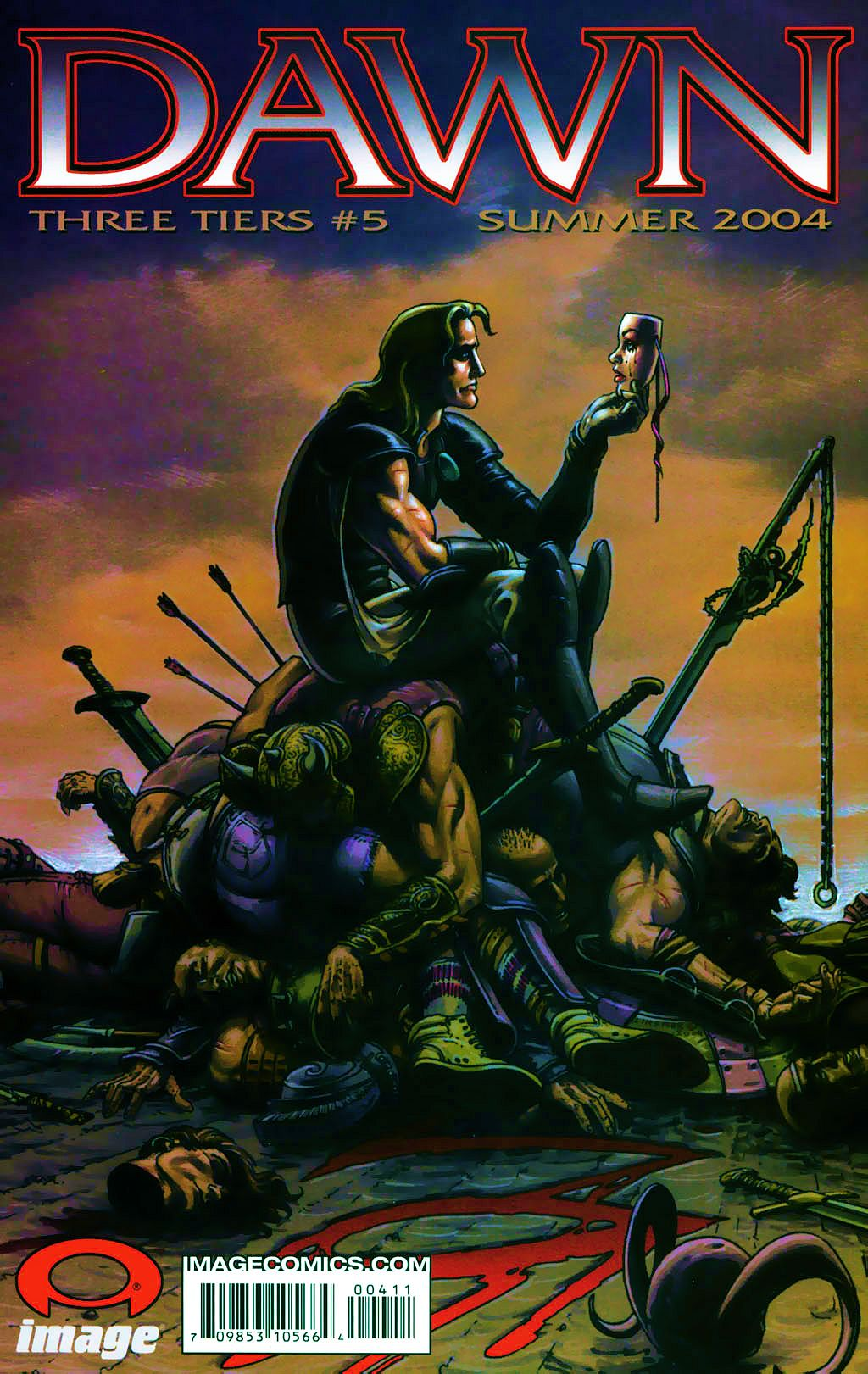Read online Dawn: Three Tiers comic -  Issue #4 - 33