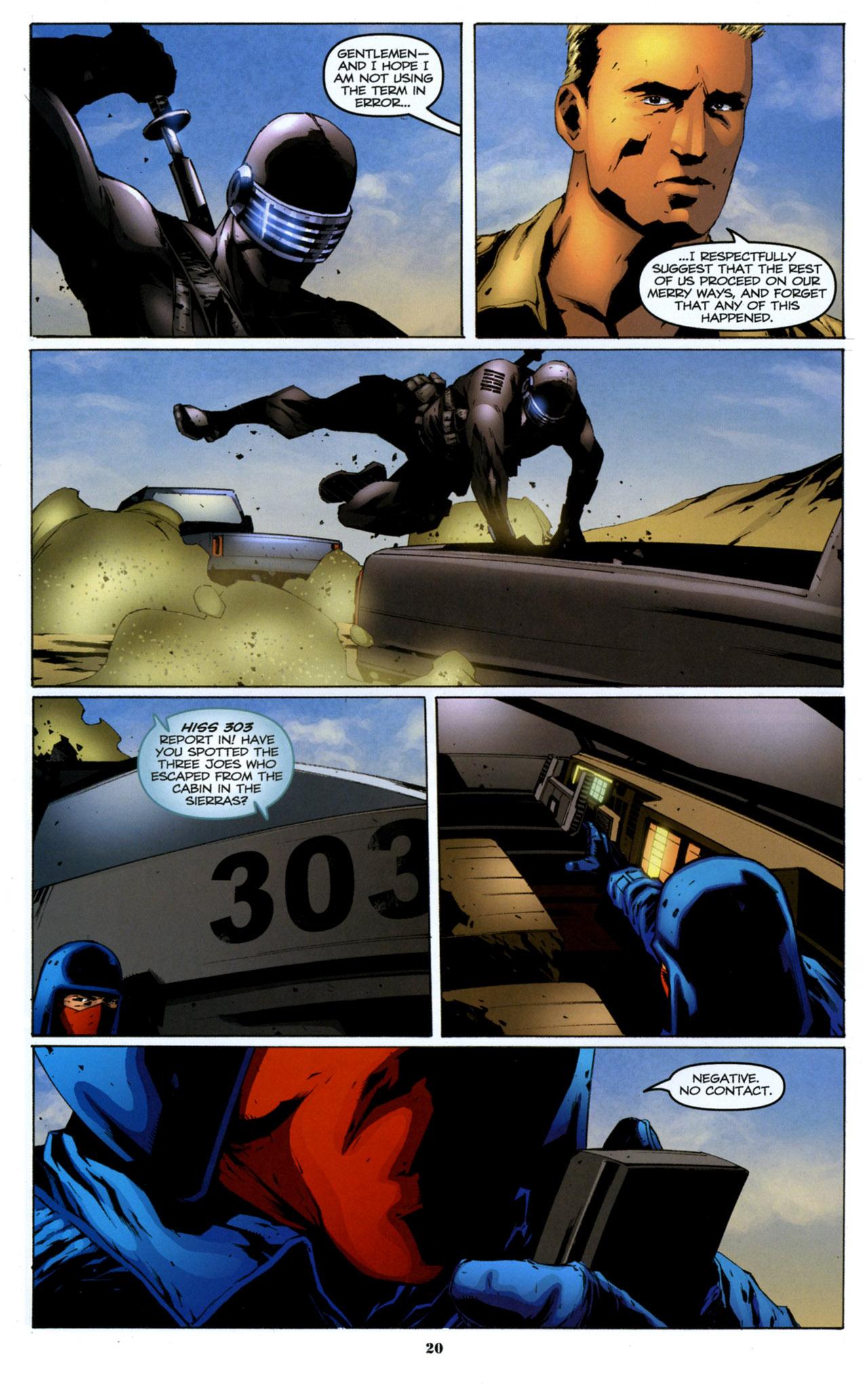G.I. Joe: A Real American Hero 157 Page 21