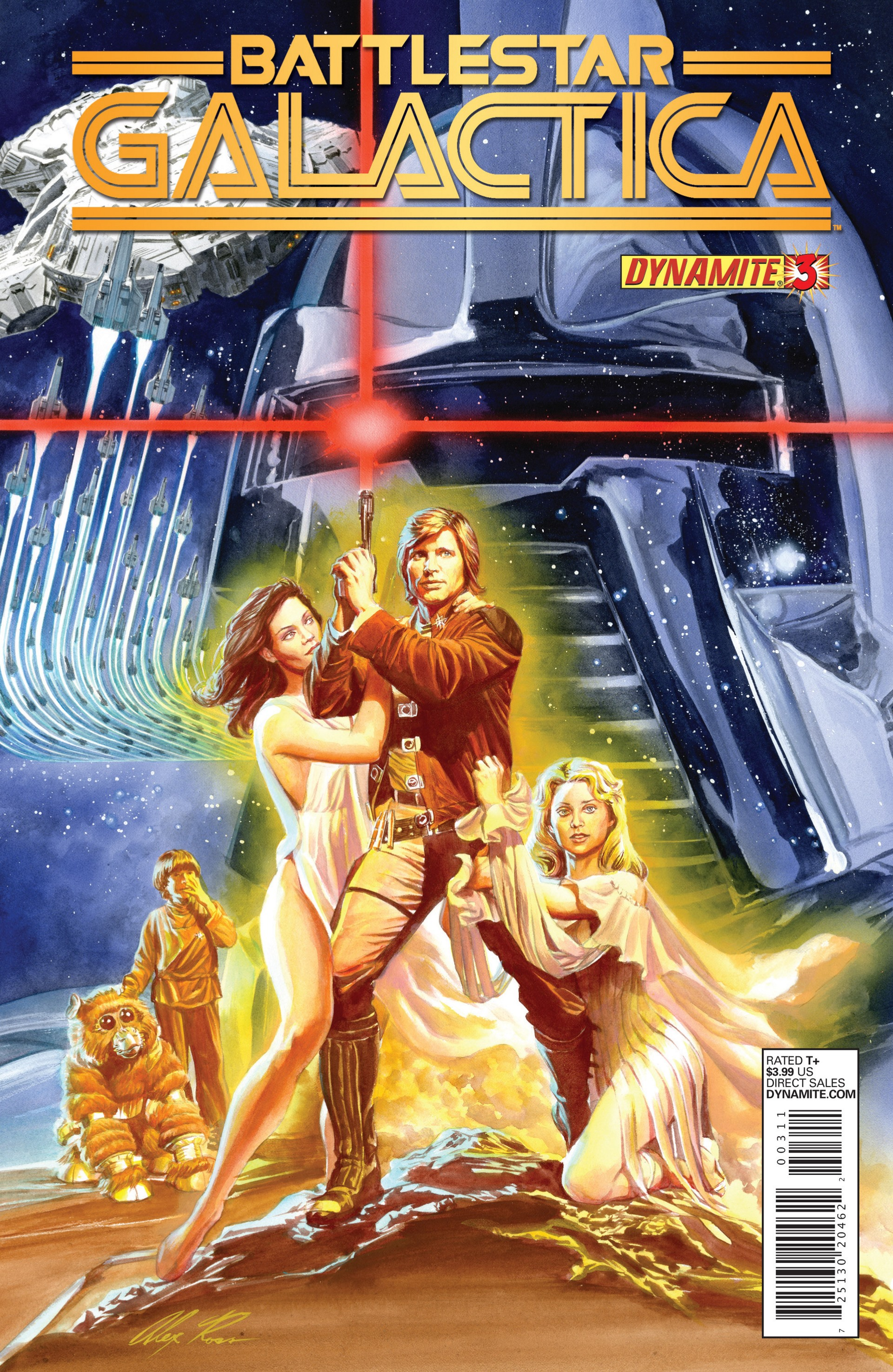 Classic Battlestar Galactica (2013) 3 Page 1