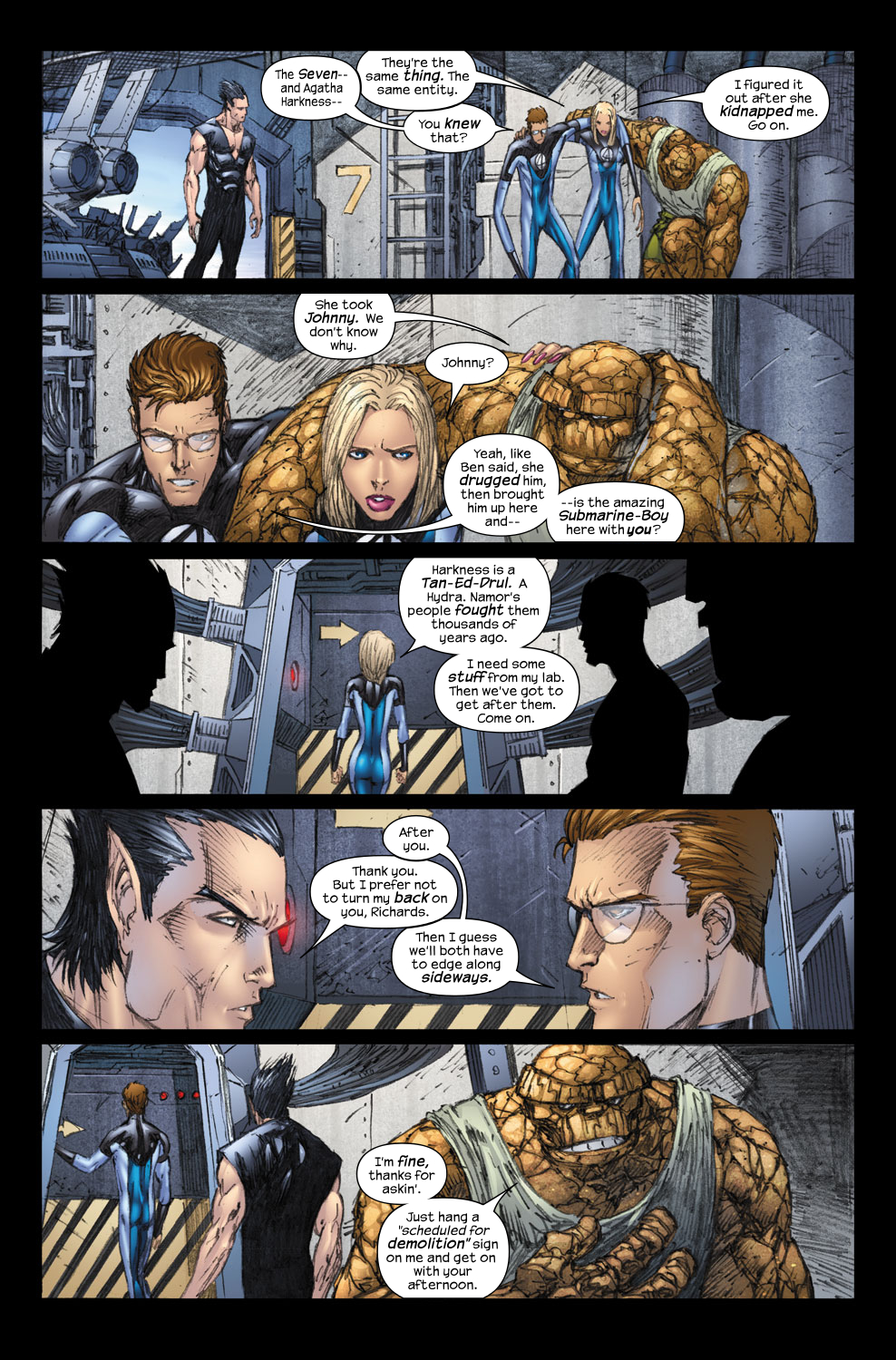 Read online Ultimate Fantastic Four (2004) comic -  Issue #57 - 6