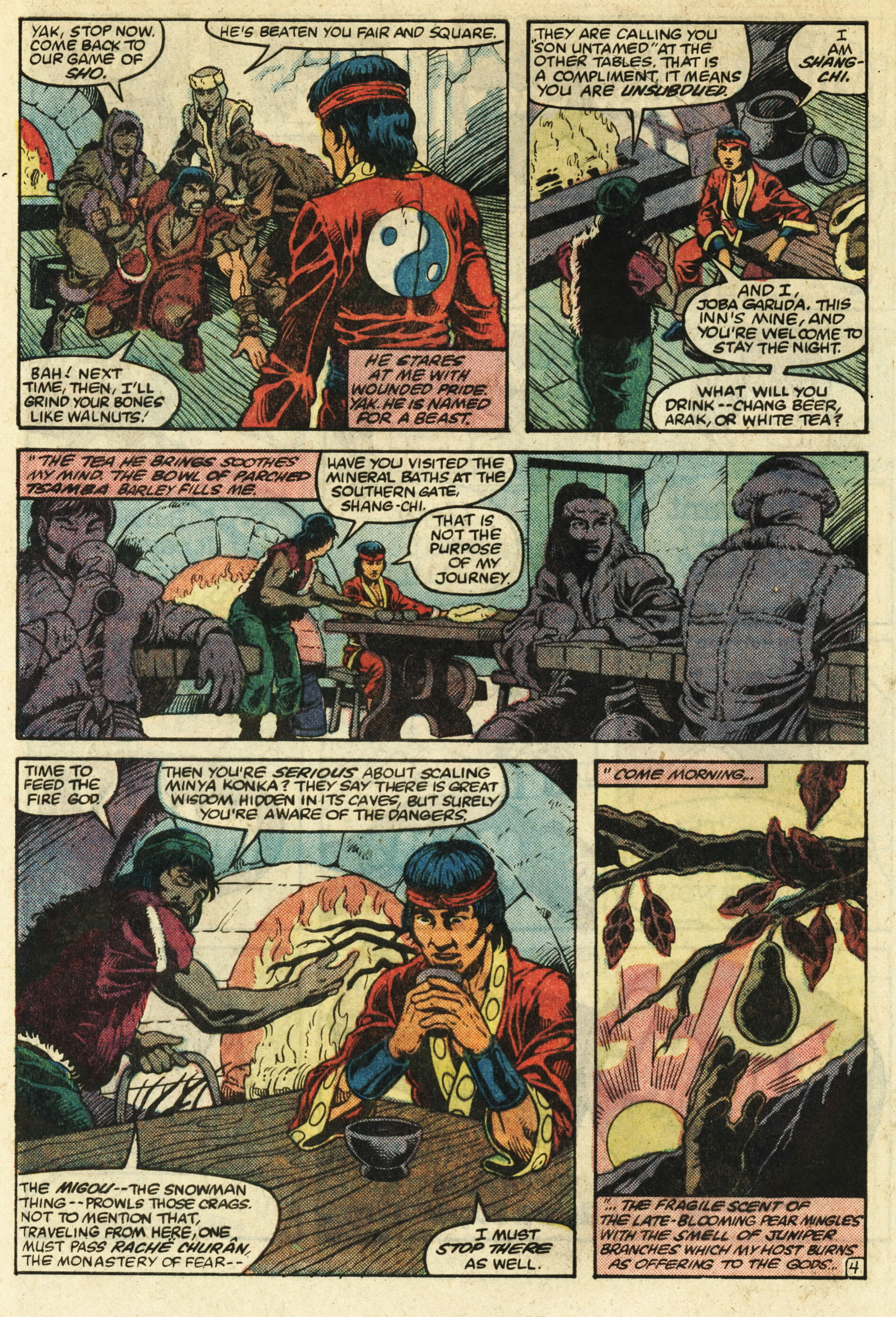 Read online Master of Kung Fu (1974) comic -  Issue #124 - 5