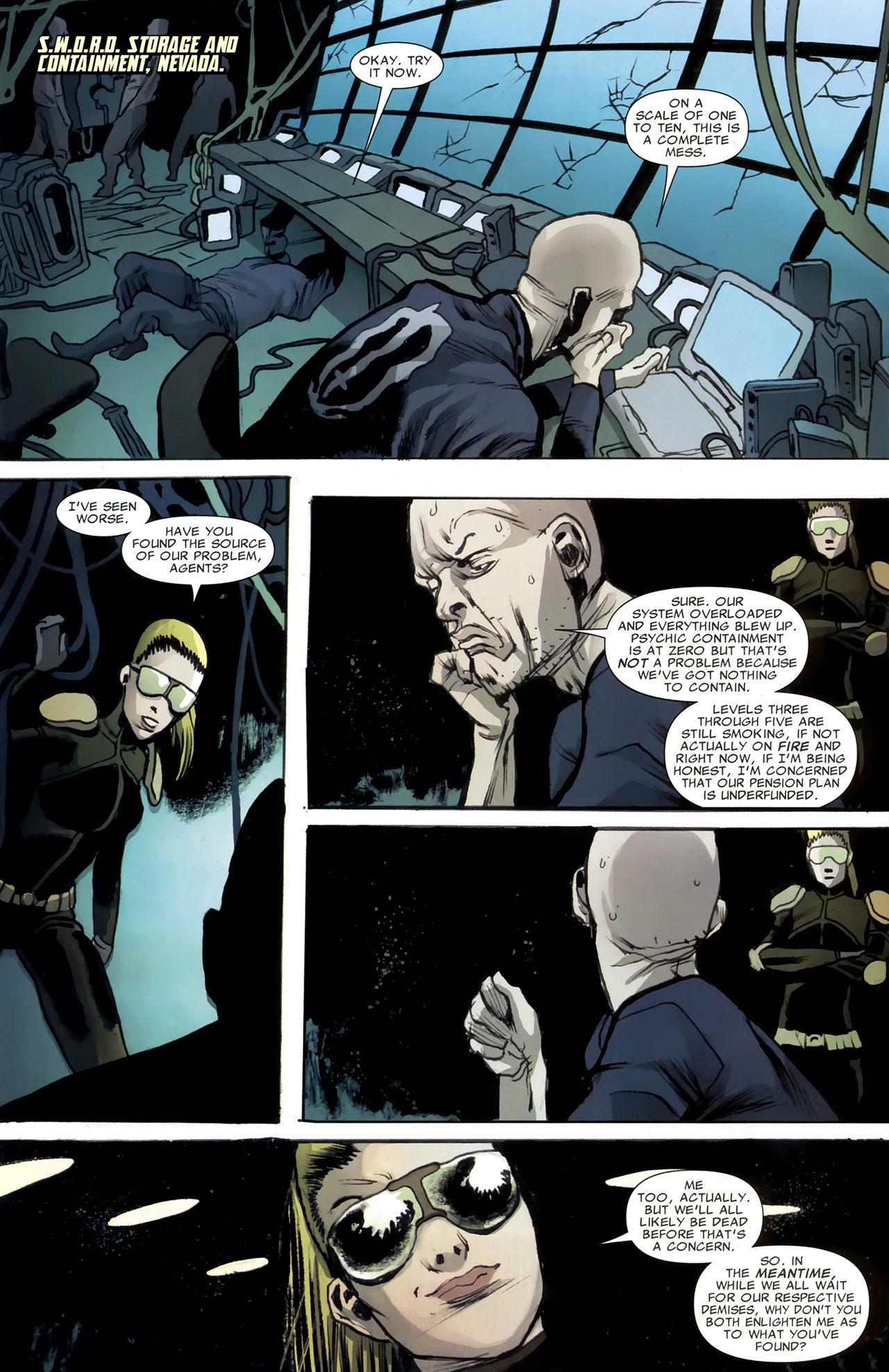 Read online Heralds comic -  Issue #2 - 9