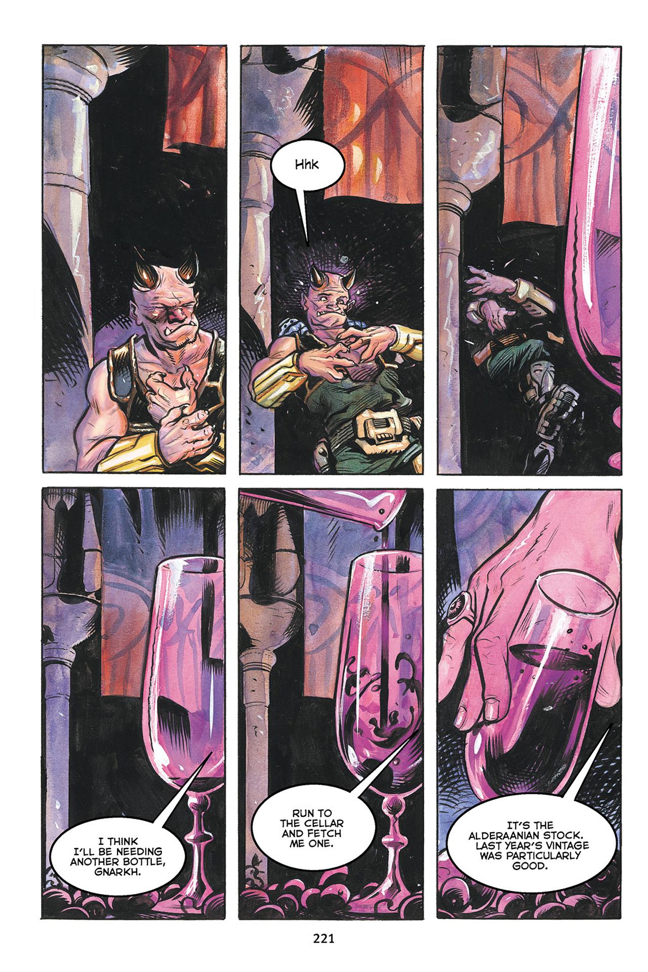 Read online Star Wars Omnibus comic -  Issue # Vol. 10 - 220