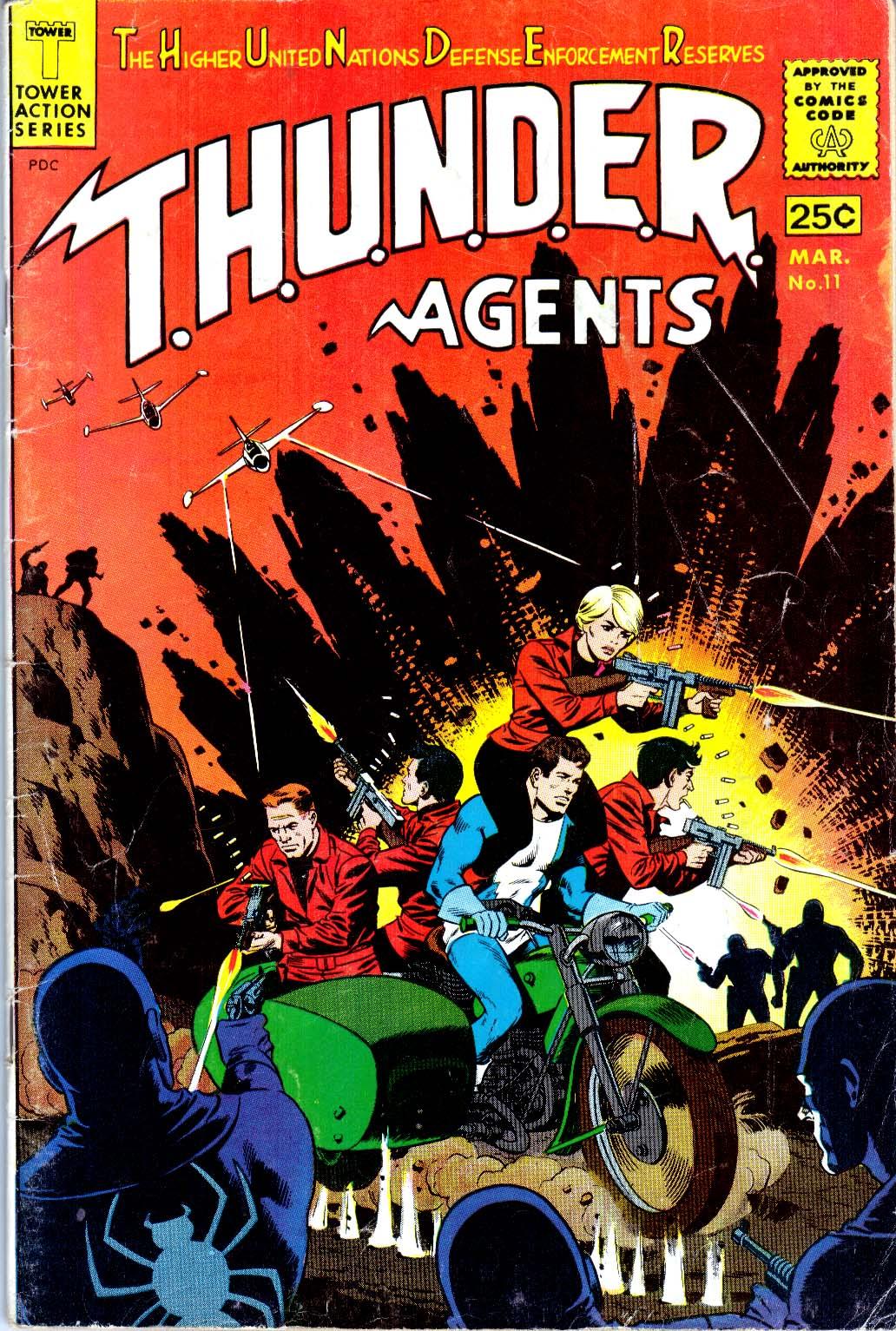 T.H.U.N.D.E.R. Agents (1965) 11 Page 1