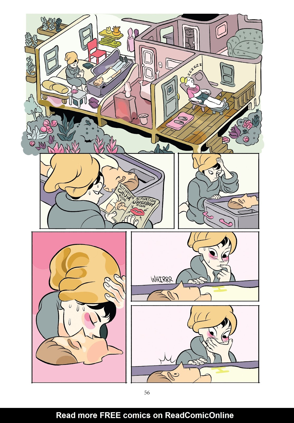Read online Girl Town comic -  Issue # TPB (Part 1) - 56