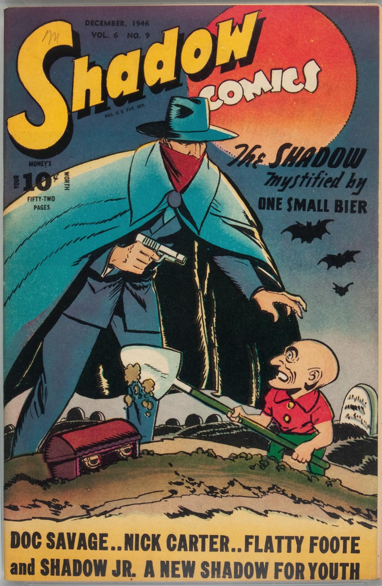 Read online Shadow Comics comic -  Issue #69 - 1