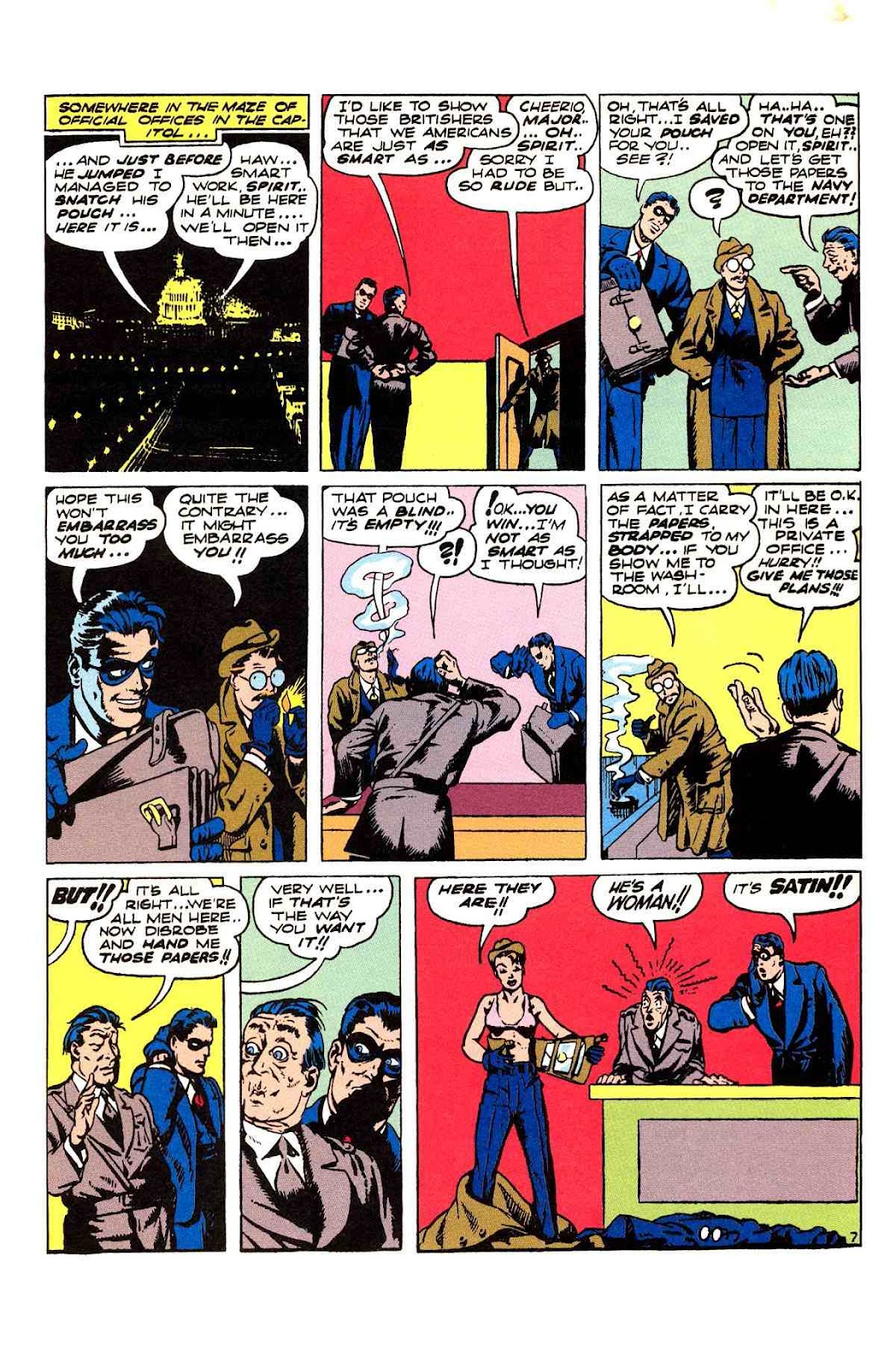 Read online Will Eisner's The Spirit Archives comic -  Issue # TPB 2 (Part 2) - 83