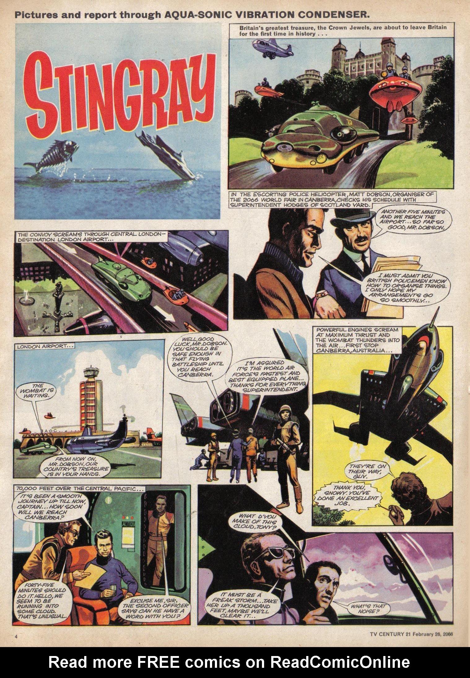 Read online TV Century 21 (TV 21) comic -  Issue #58 - 4
