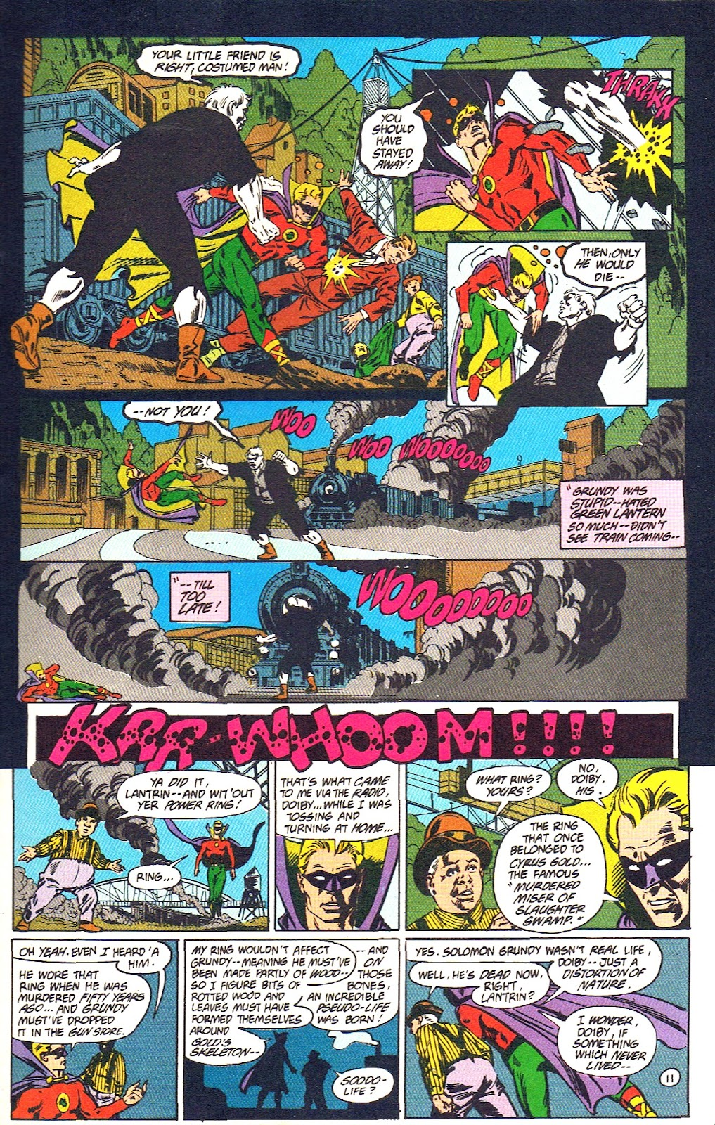 Infinity Inc. (1984) issue 39 - Page 13
