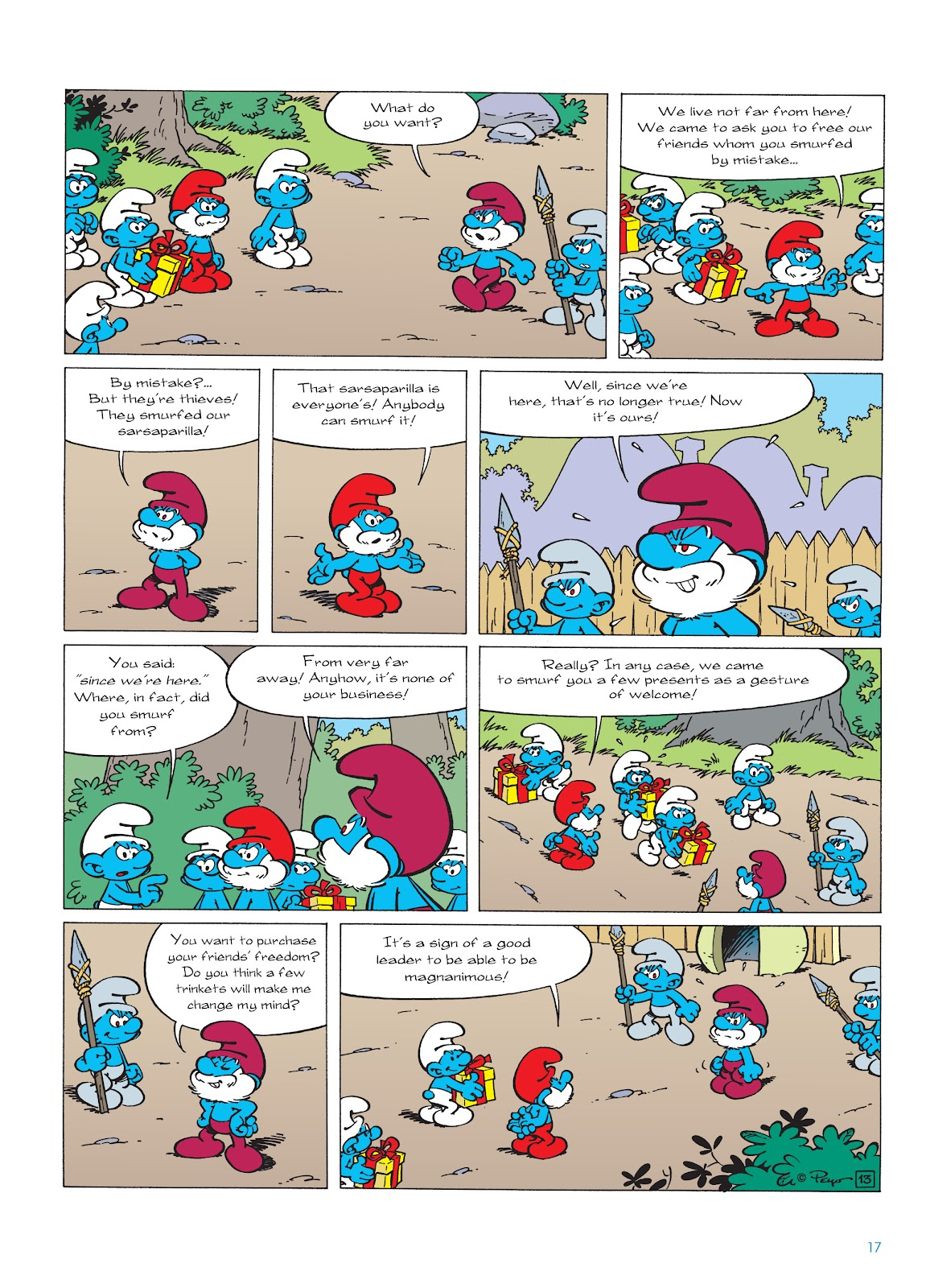 Read online The Smurfs comic -  Issue #22 - 18