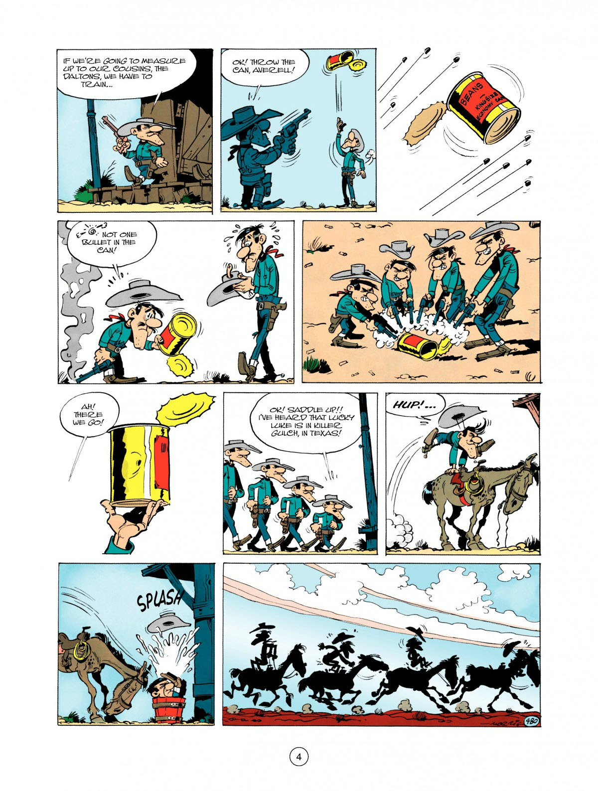 Read online A Lucky Luke Adventure comic -  Issue #28 - 5