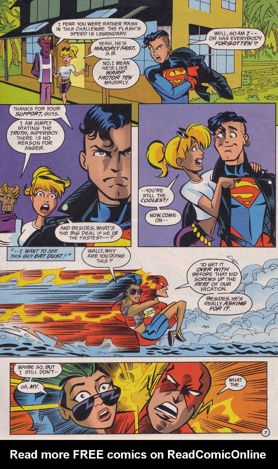 Read online Adventures in the DC Universe comic -  Issue #14 - 8