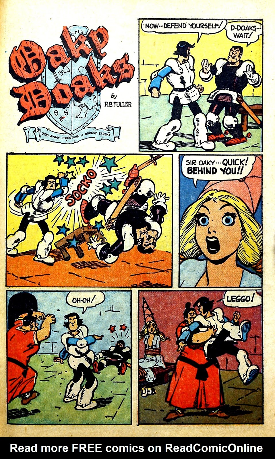 Read online Famous Funnies comic -  Issue #166 - 43