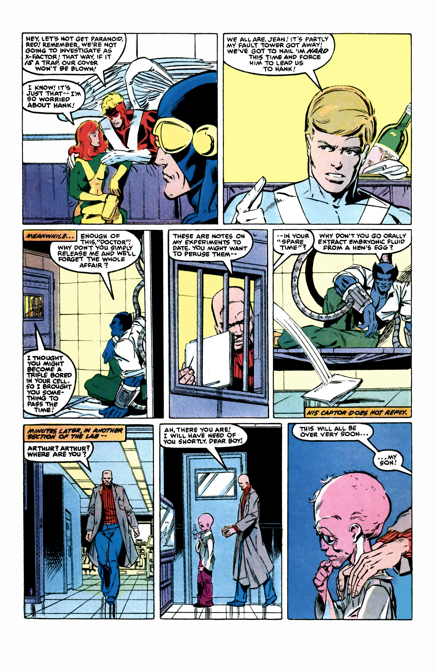 Read online X-Factor (1986) comic -  Issue #2 - 19