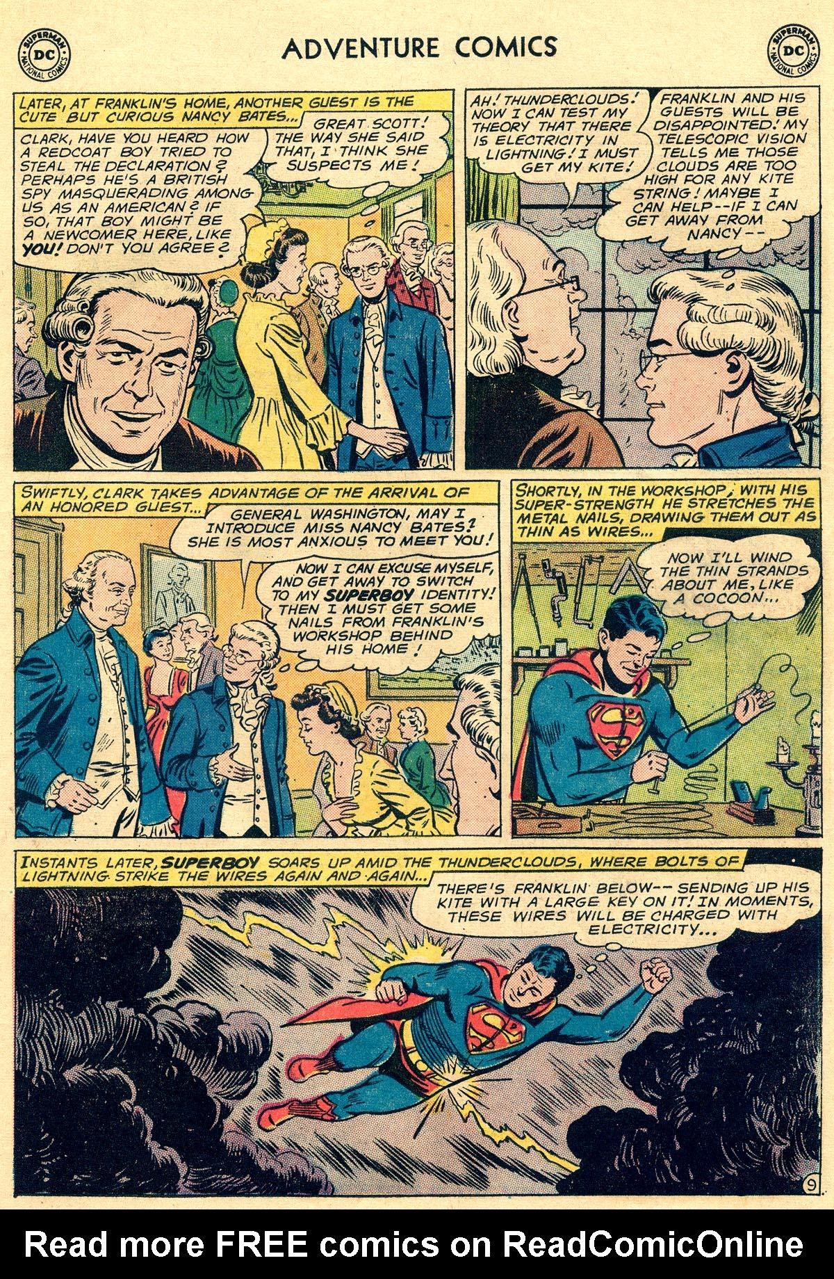Read online Adventure Comics (1938) comic -  Issue #296 - 11